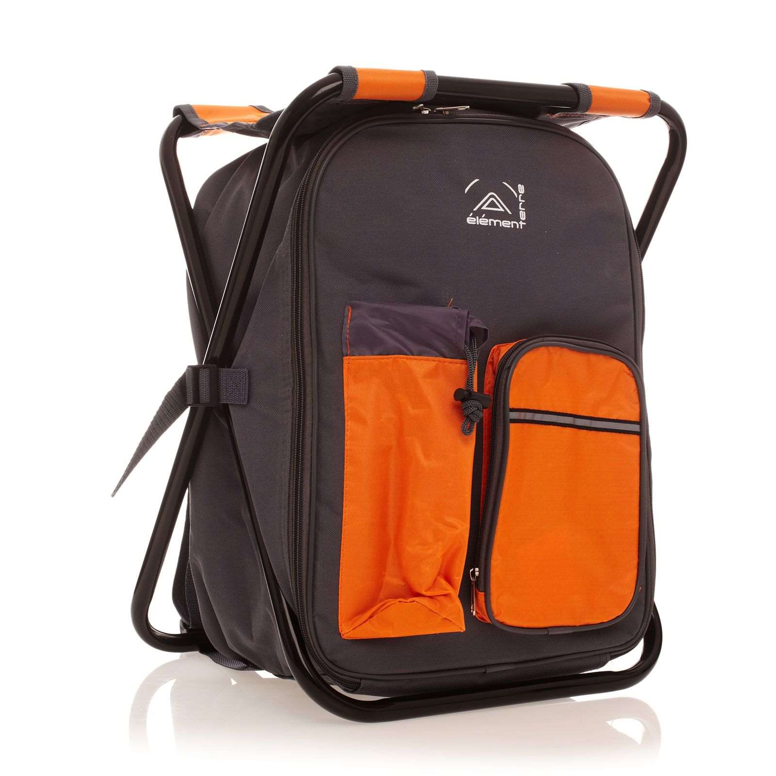Elementerre cooly sac dos glaci re gris et orange brandalley - Sac a dos glaciere ...