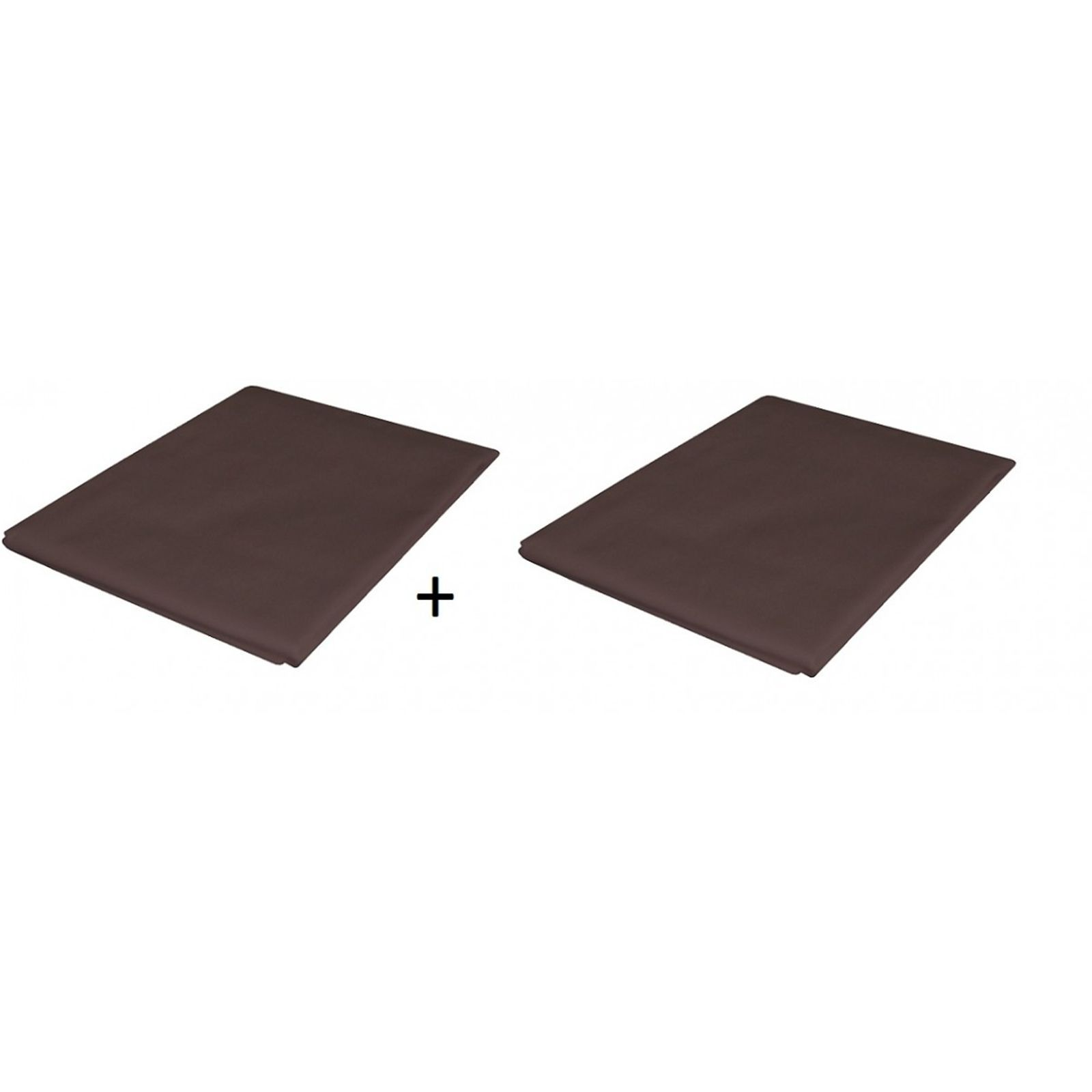 someo someo 2 taies d 39 oreillers chocolat 40x60 cm. Black Bedroom Furniture Sets. Home Design Ideas