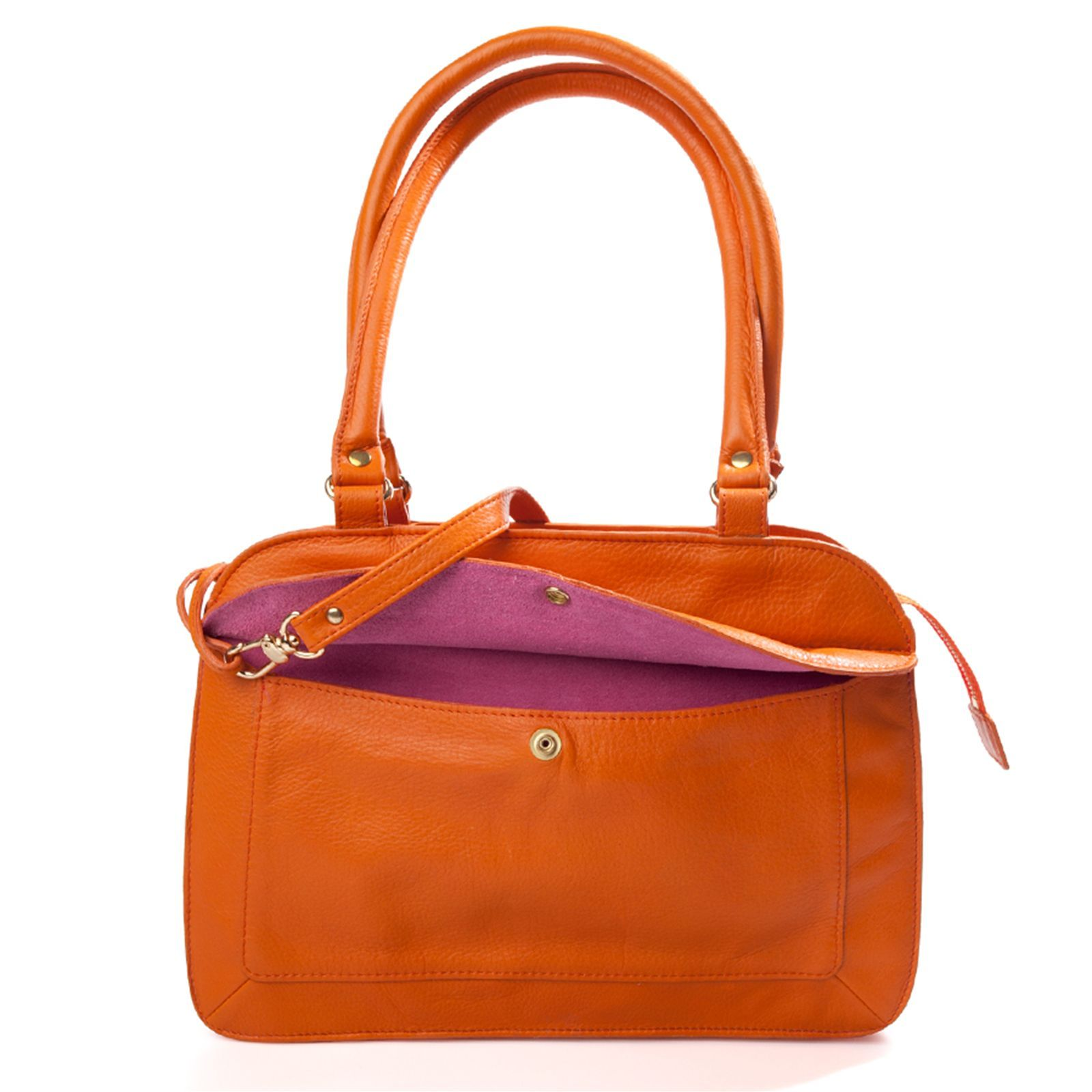 Mamix Accordéon - Sac à main en cuir - orange