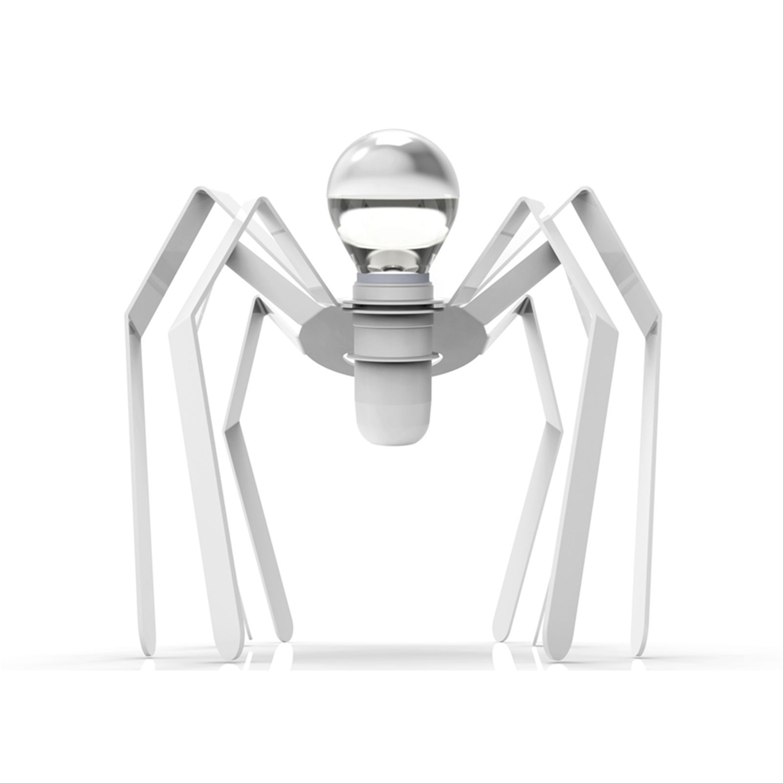 thomas de lussac spiderlight lampe design blanche. Black Bedroom Furniture Sets. Home Design Ideas
