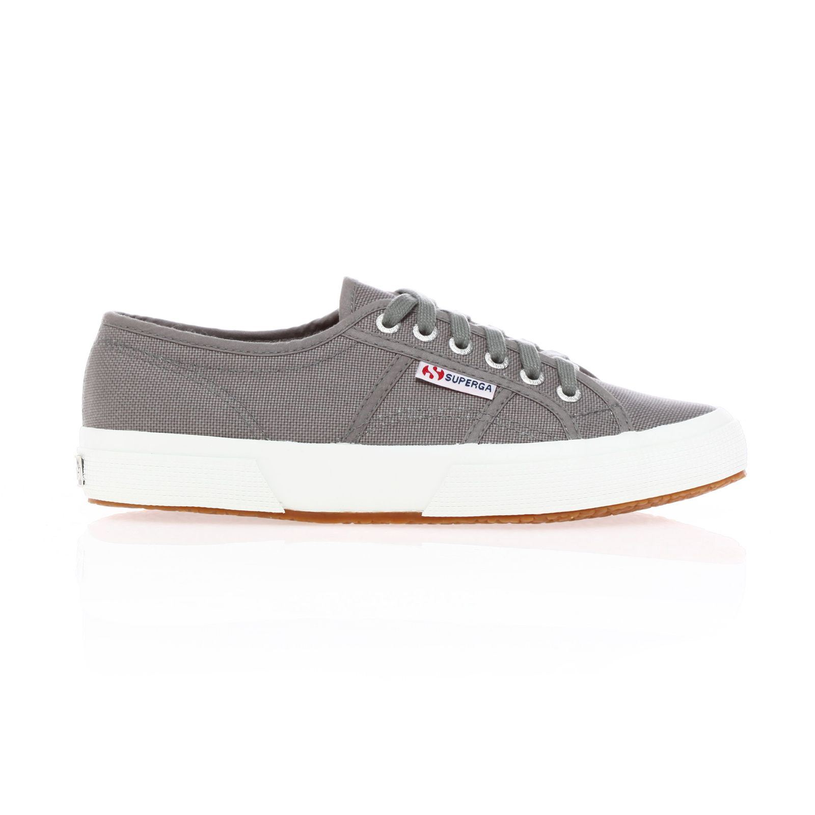 lowest price 987c1 b9053 Superga Cotu classic - Baskets Mode - grises Etiquette siglée sur le côté