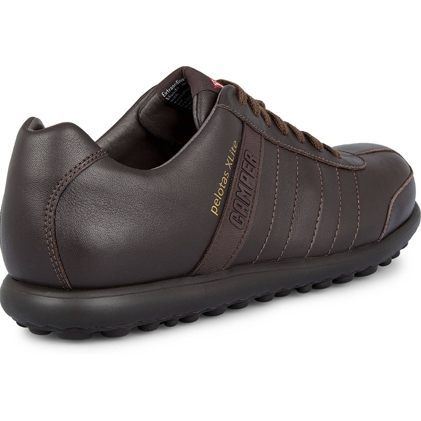Camper Pelotas - Baskets Mode - en cuir marron