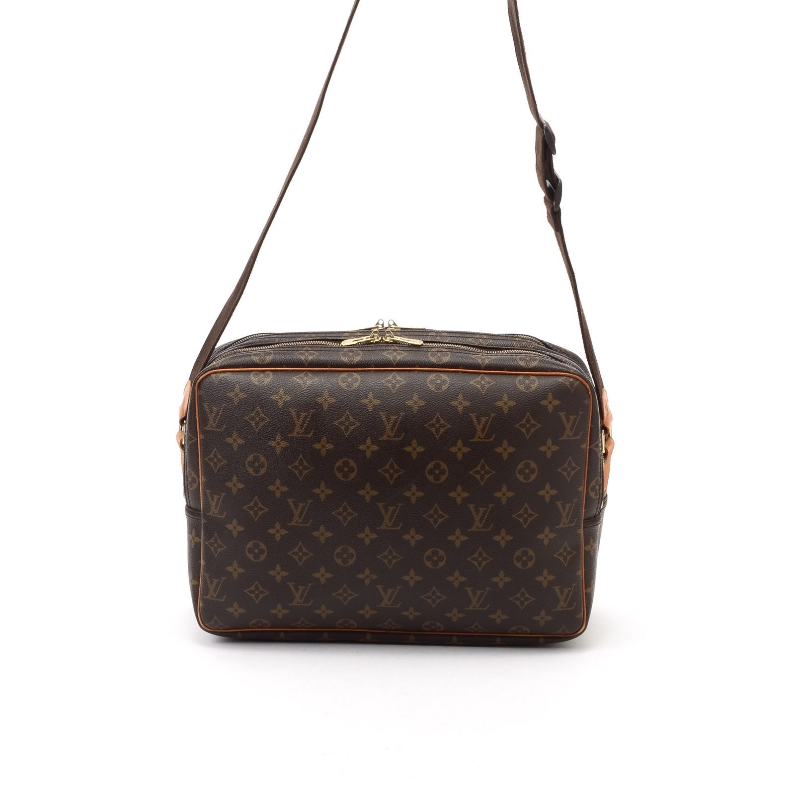 louis vuitton reporter monogram louis vuitton tasche braun brandalley. Black Bedroom Furniture Sets. Home Design Ideas