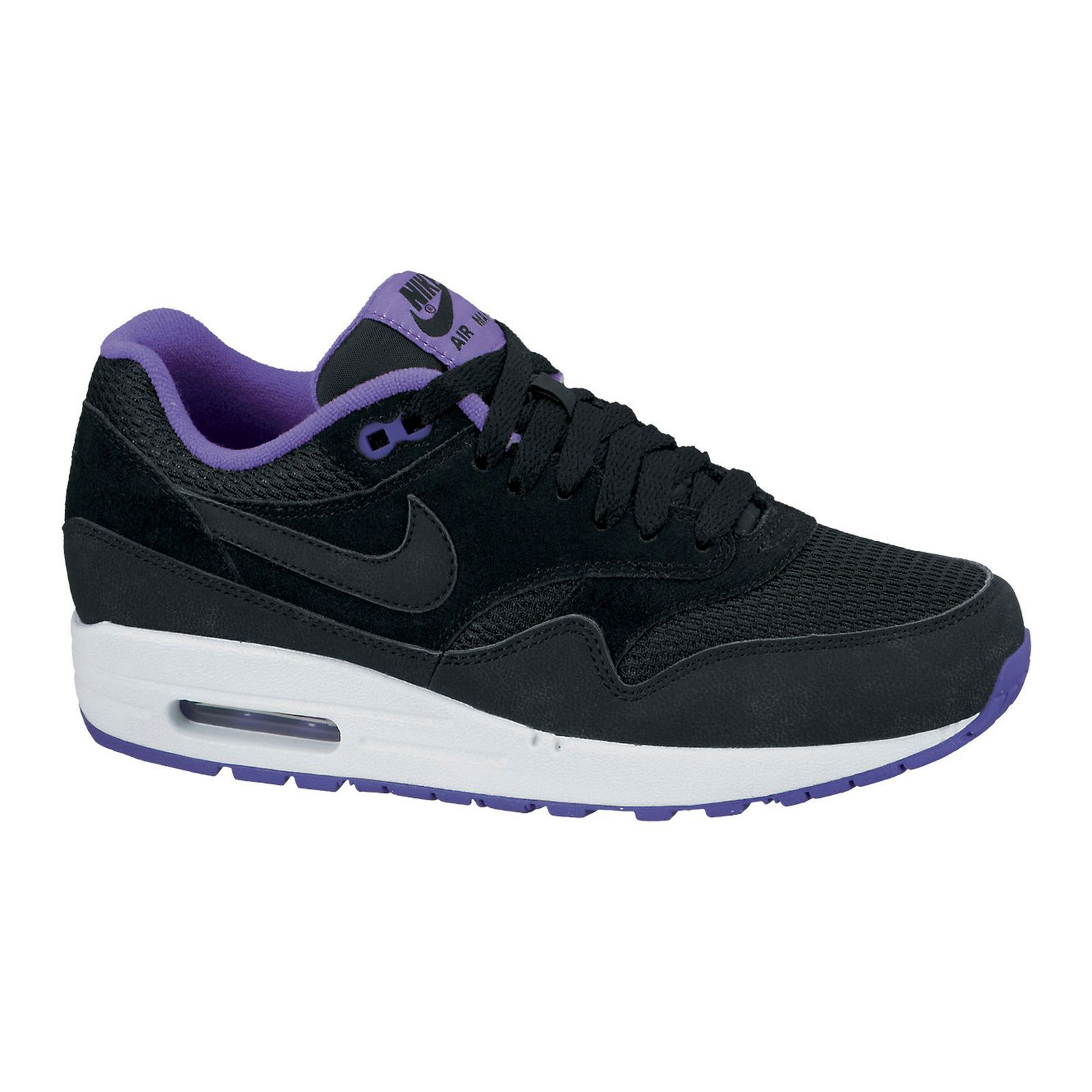 uk availability d8656 94fe9 ... Nike AIR MAX 1 ESSENTIAL - Baskets - noires   Brandalley ...