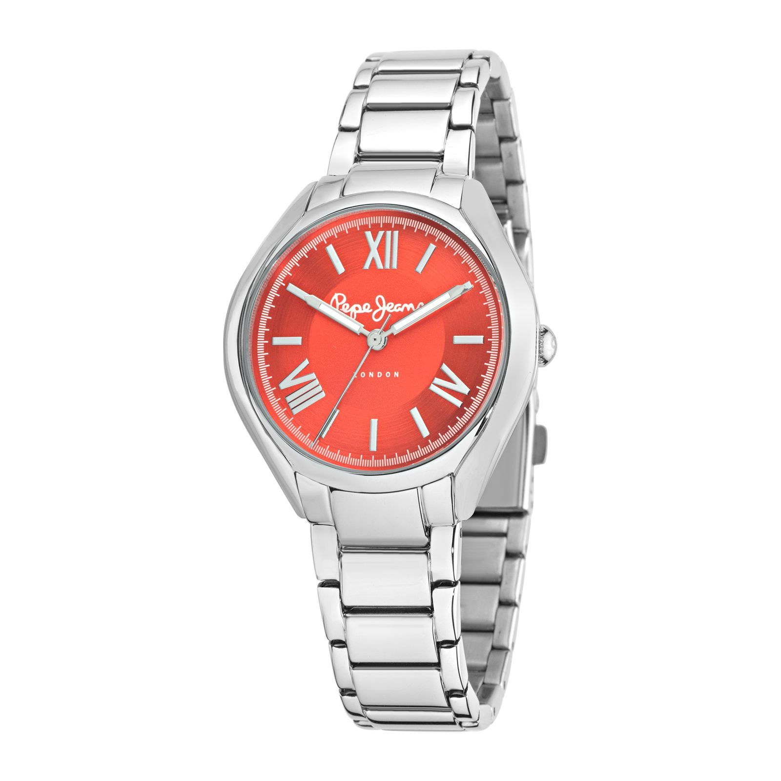 Pepe Jeans London Montre Alice - Argent/Orange