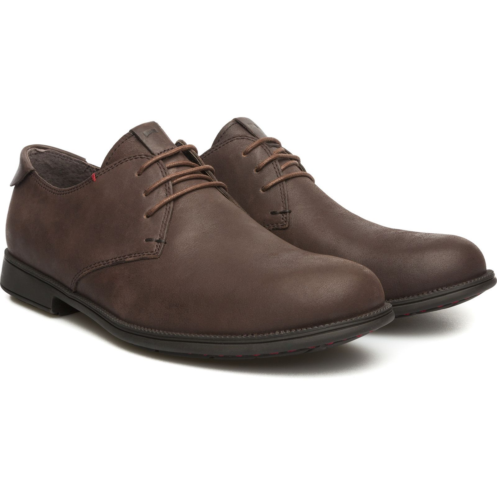 Camper Mil - Derbies en cuir - marron