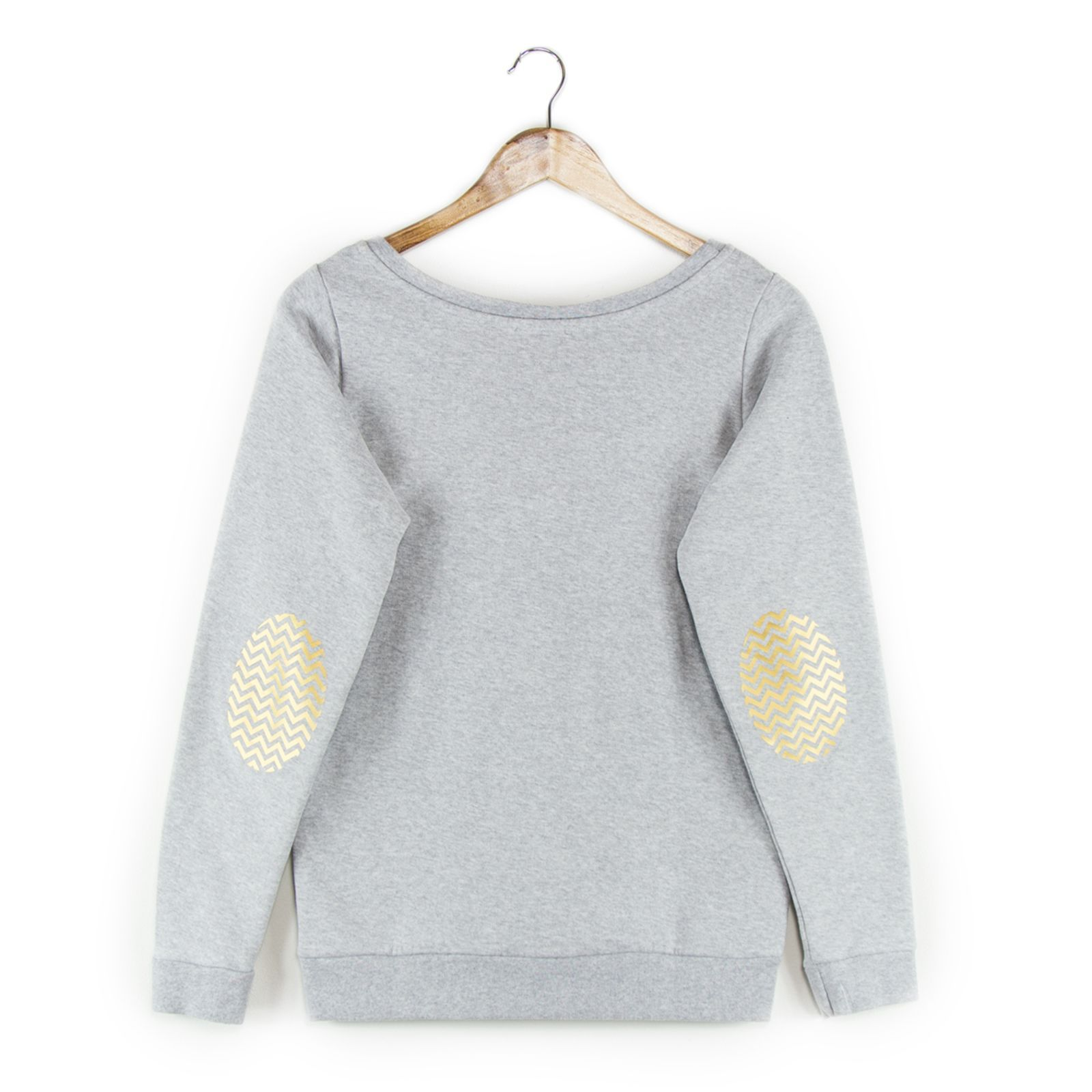 French Disorder Sweat à coudières - gris | Brandalley