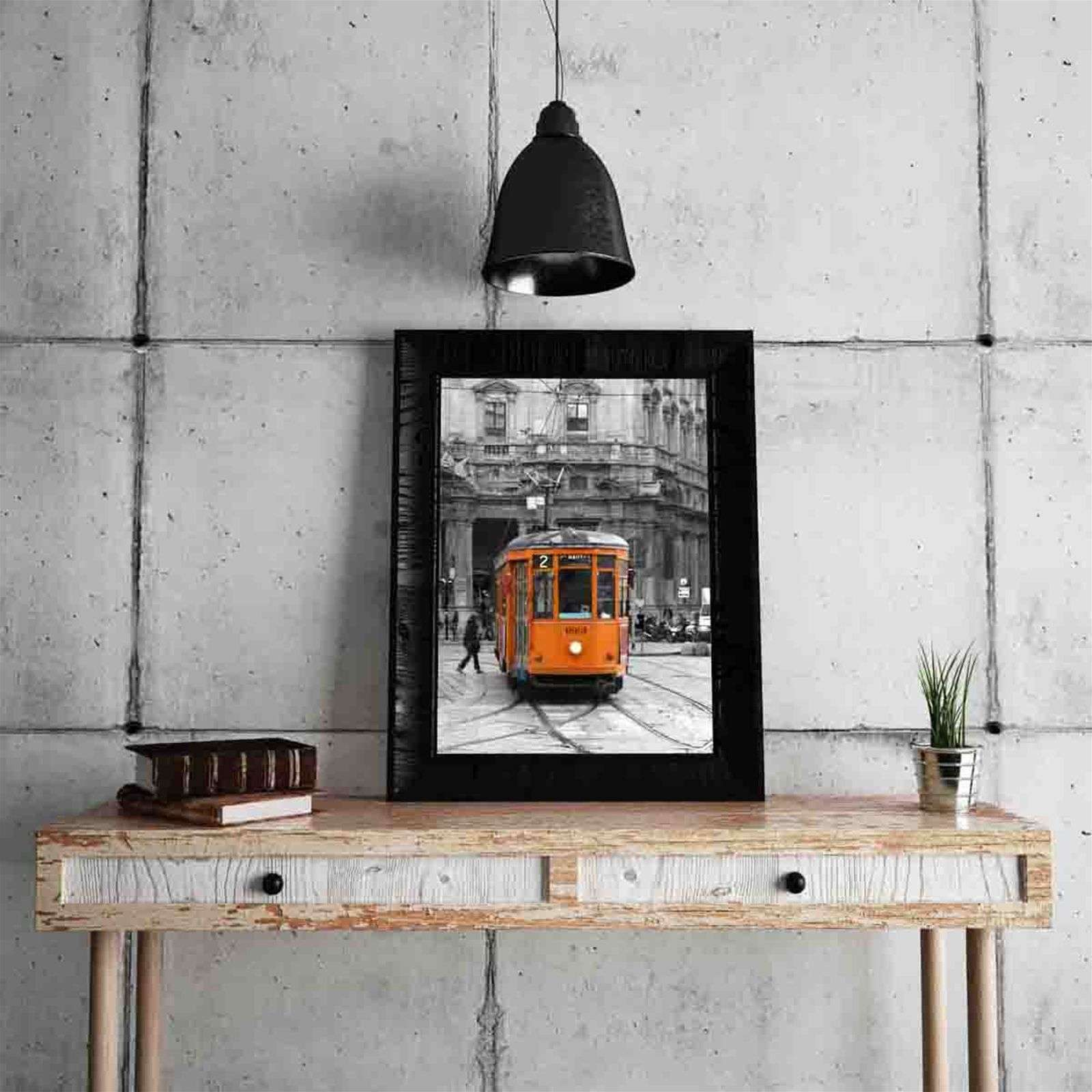 l papiers de ninon orange tram tableau orange brandalley. Black Bedroom Furniture Sets. Home Design Ideas