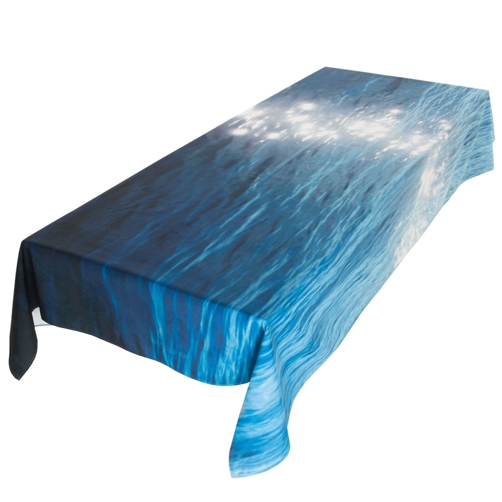 nappe v g tale pleine mer nappe bleu marine brandalley. Black Bedroom Furniture Sets. Home Design Ideas