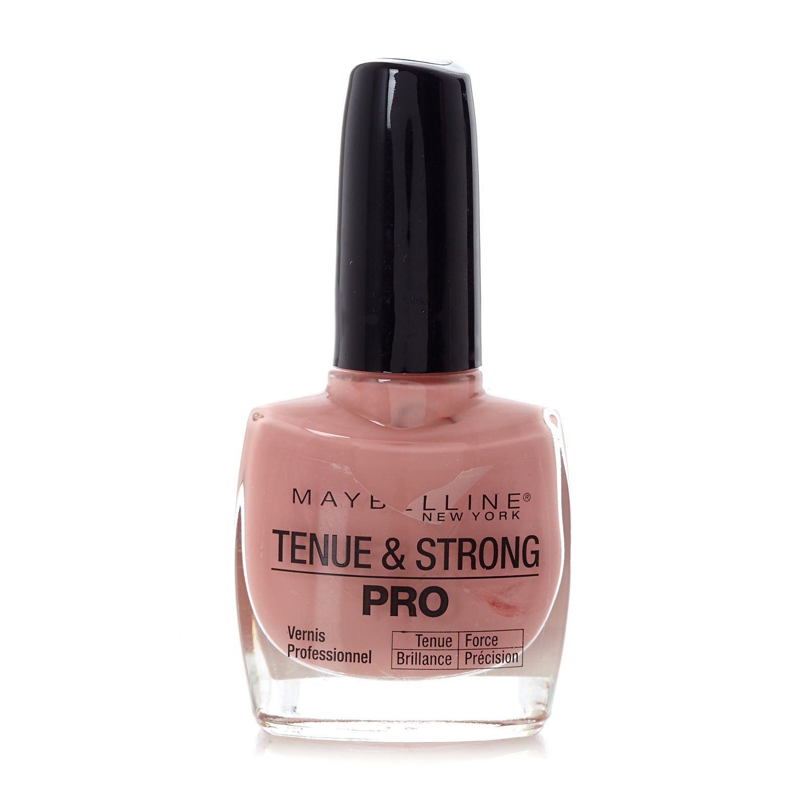 maybelline tenue strong pro nagellack 135 nude rose. Black Bedroom Furniture Sets. Home Design Ideas