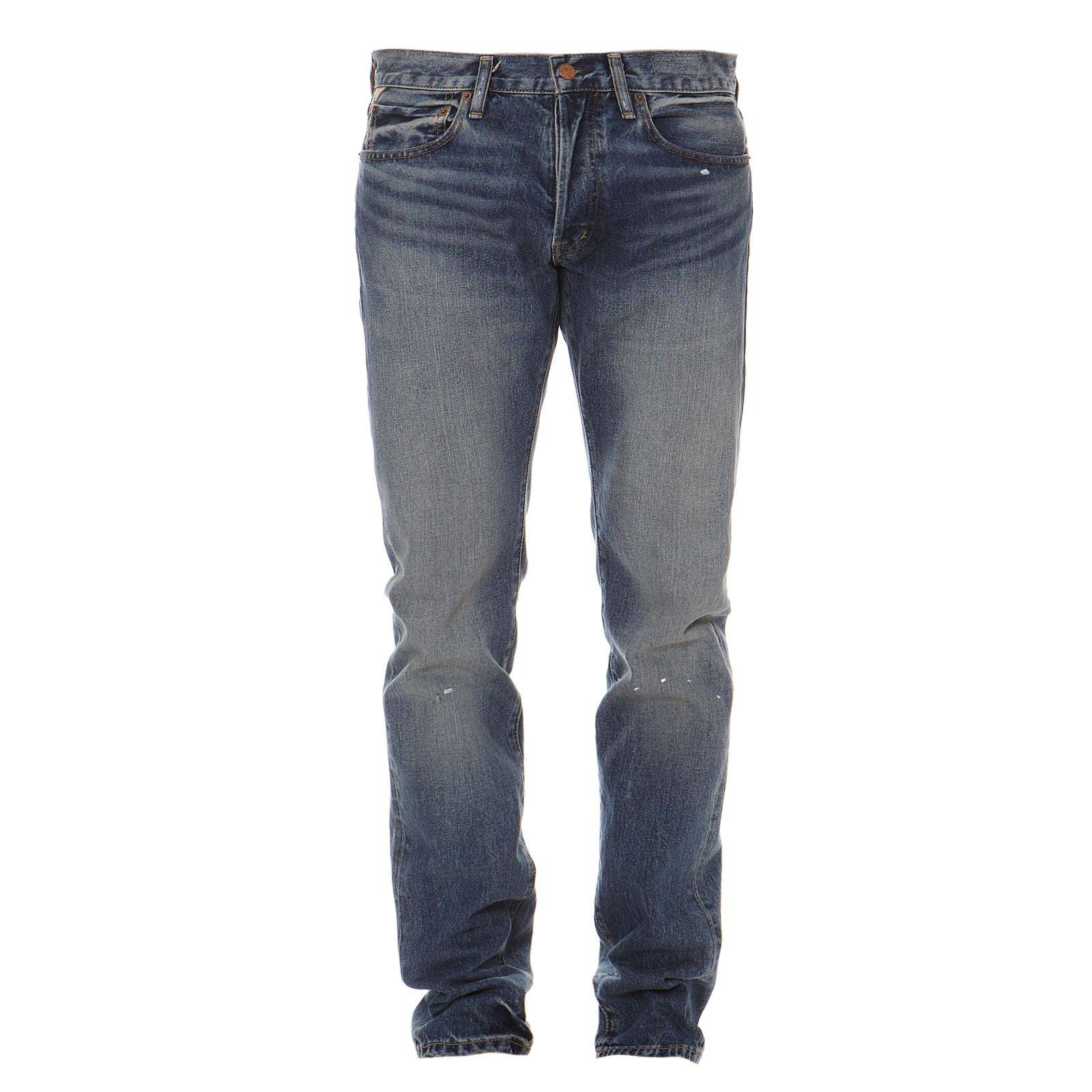 Denim  Supply Ralph Lauren Jean slim - bleu délavé