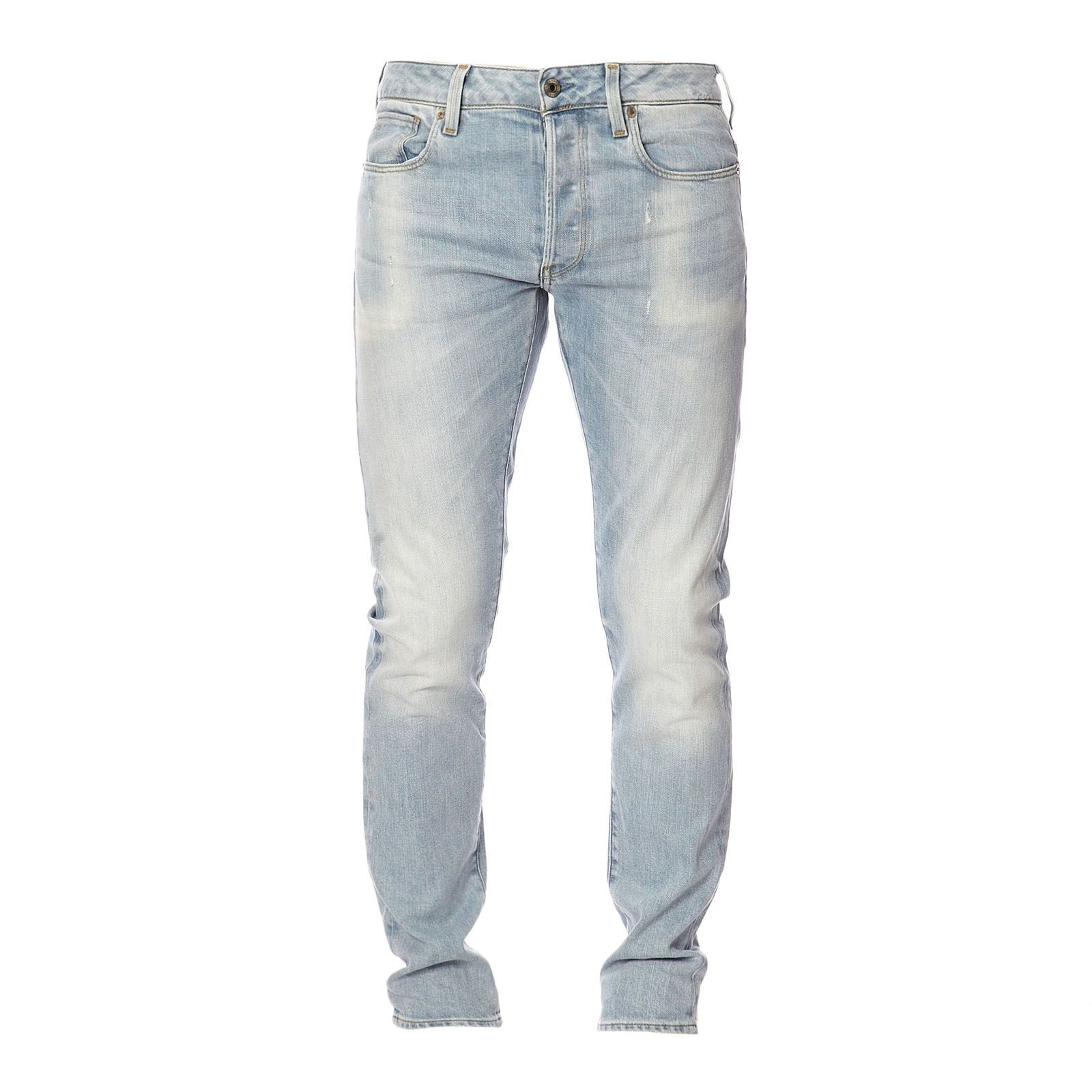 G Star 3301 Slim  Regular  Denim Bleu
