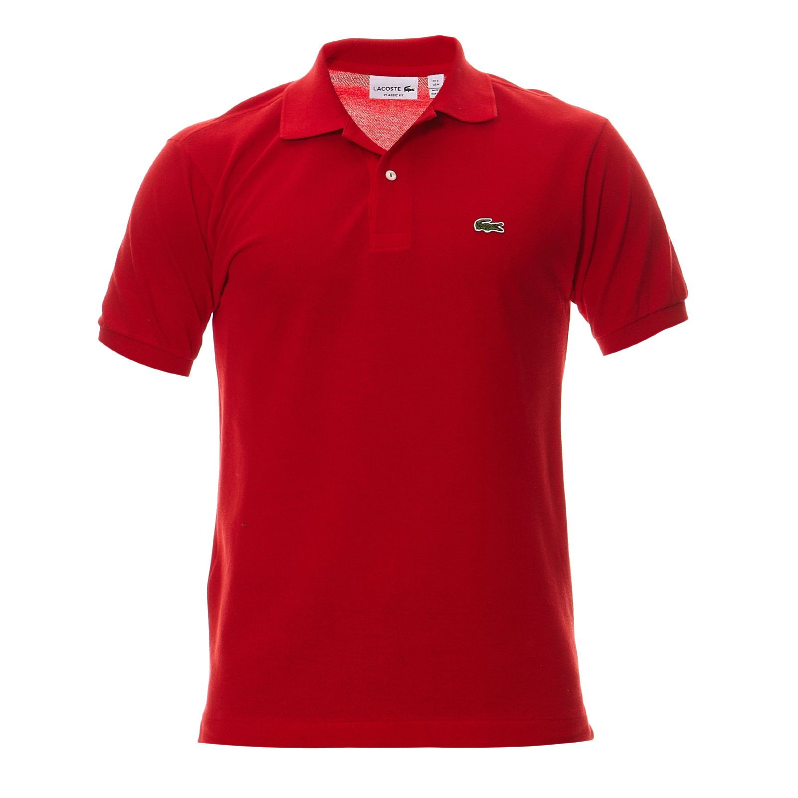 3cdaff73825 Lacoste L1212 - Polo - rouge