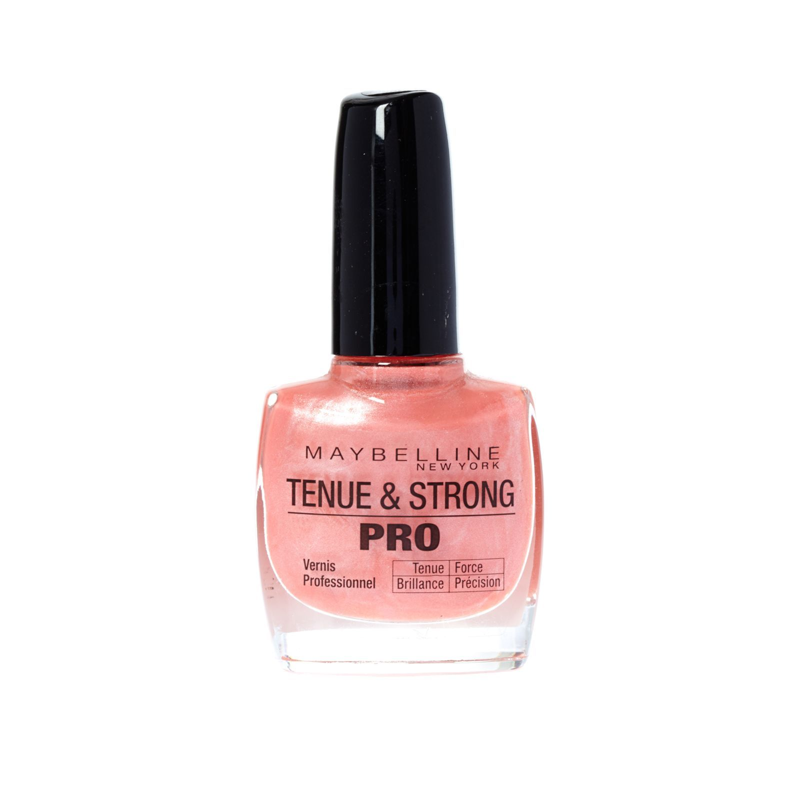 maybelline tenue strong pro vernis ongles 440 rose m tallique brandalley. Black Bedroom Furniture Sets. Home Design Ideas