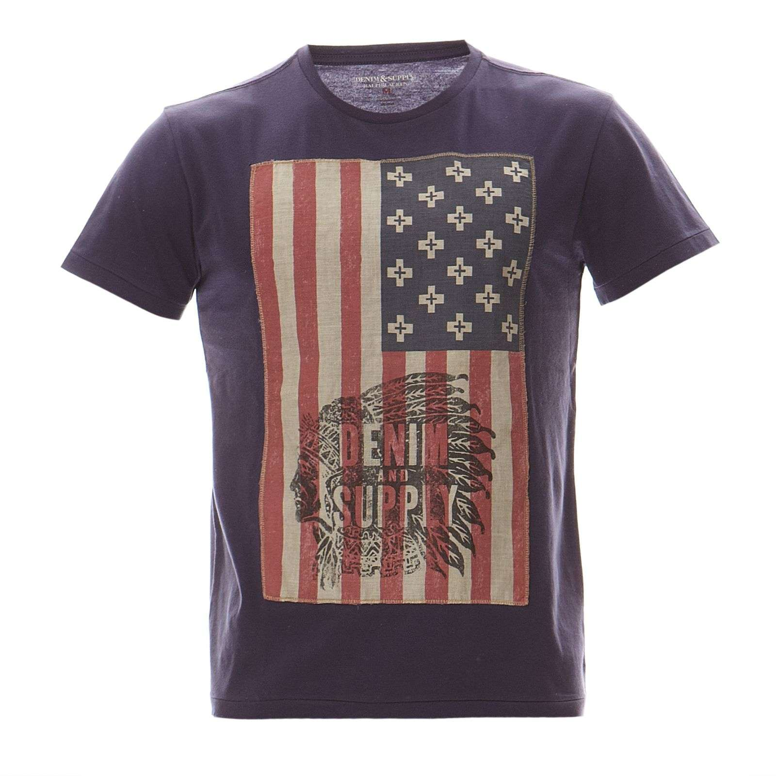 Denim  Supply Ralph Lauren T-shirt - bleu marine