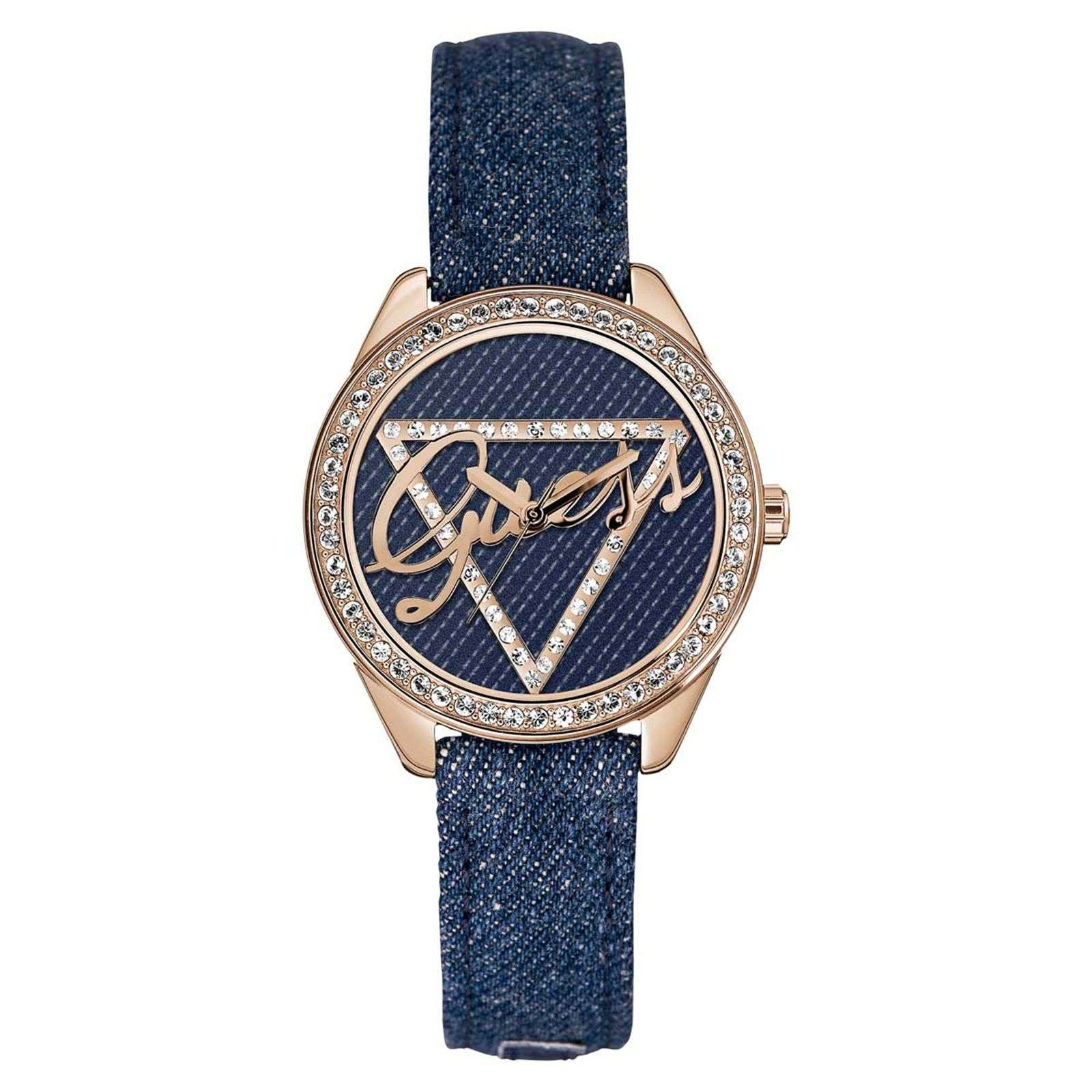 Guess Montre en cuir