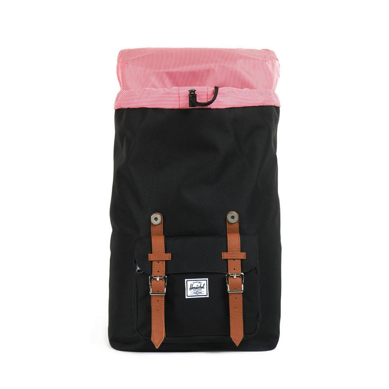 herschel little america rucksack schwarz brandalley. Black Bedroom Furniture Sets. Home Design Ideas