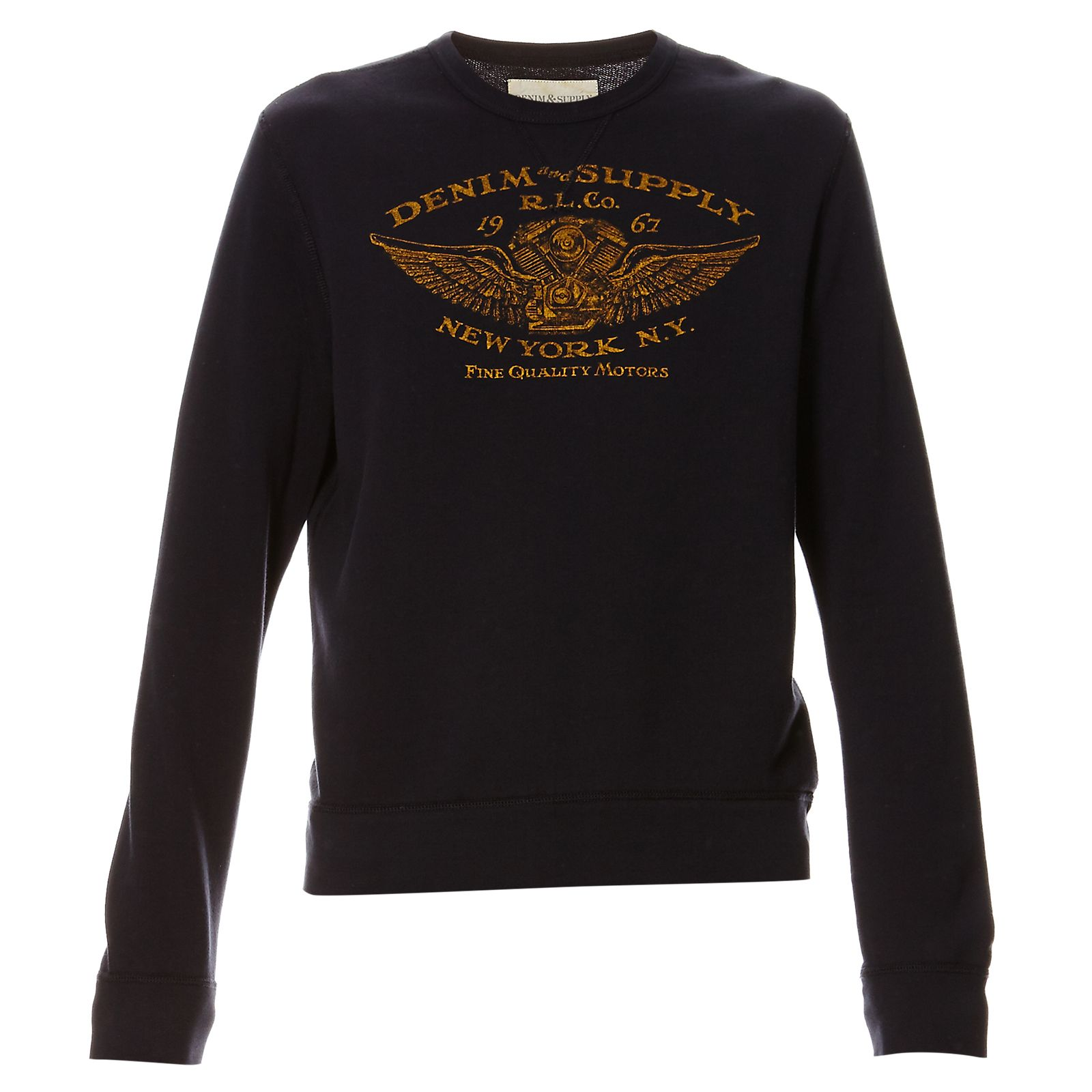 Denim  Supply Ralph Lauren Sweat-shirt - bleu foncé