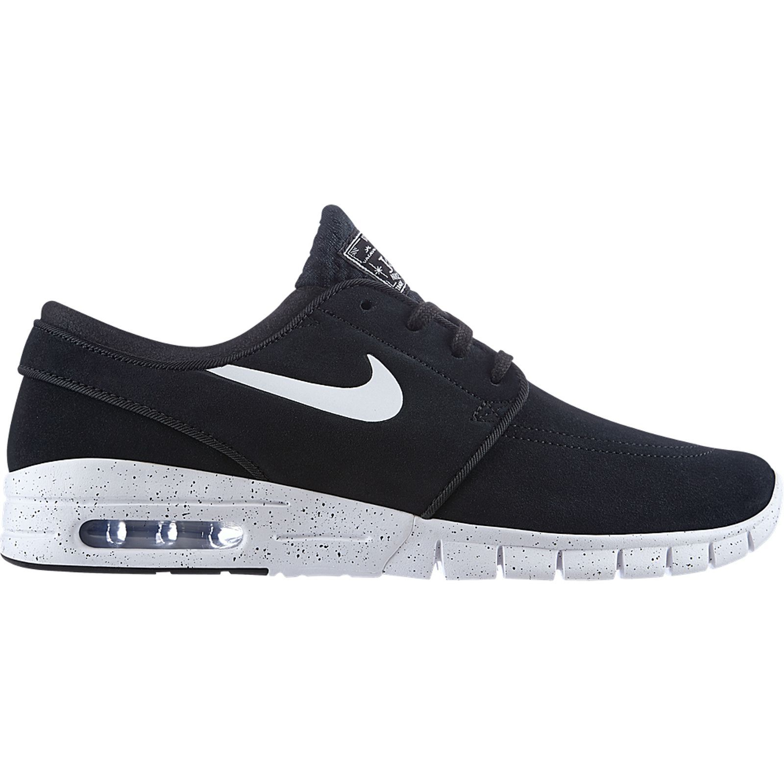 nike stefan janoski max turnschuhe sneakers schwarz. Black Bedroom Furniture Sets. Home Design Ideas