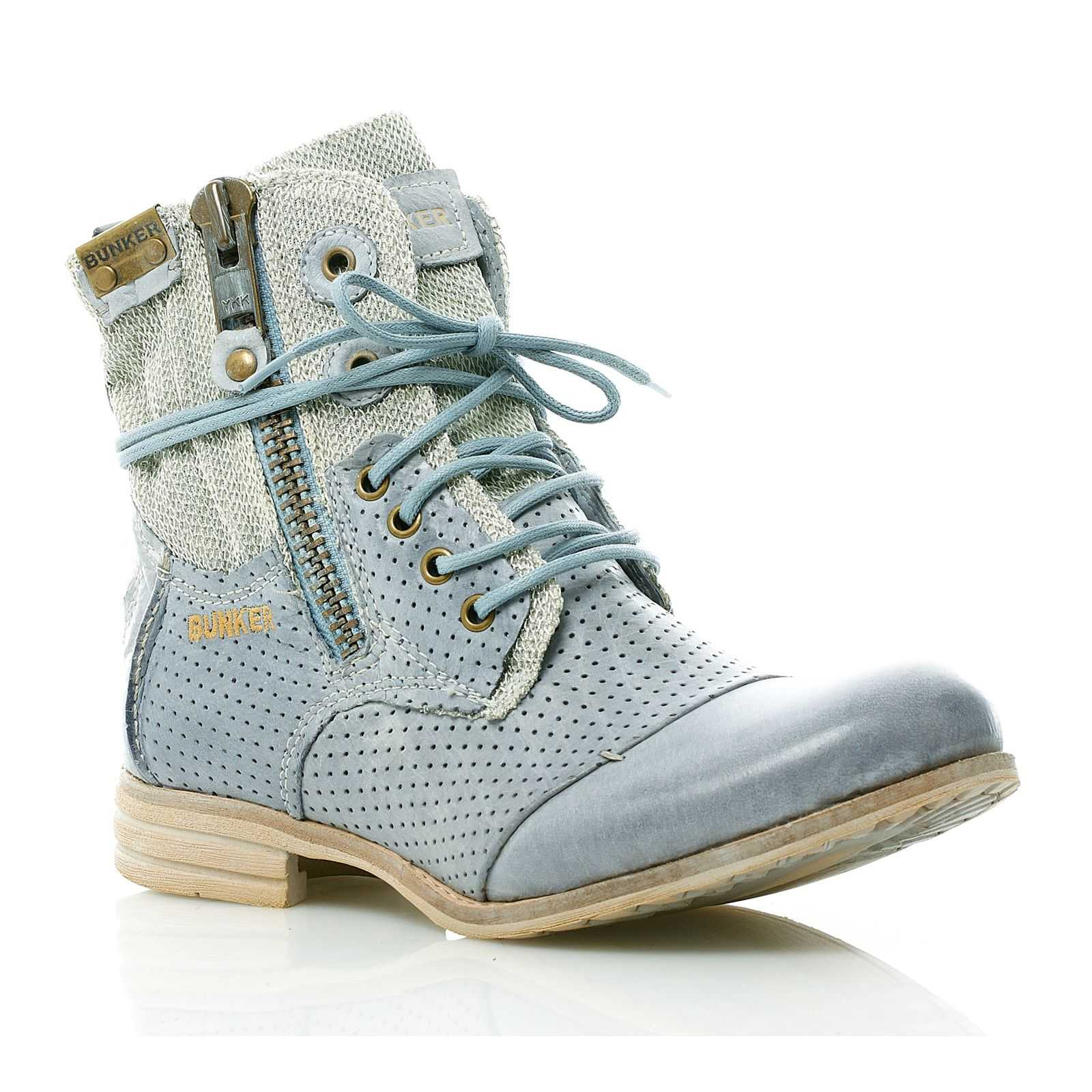 Chaussures 3om0bhqp Bunker Bleues Bunker Chaussures Femme gw6Xrgq