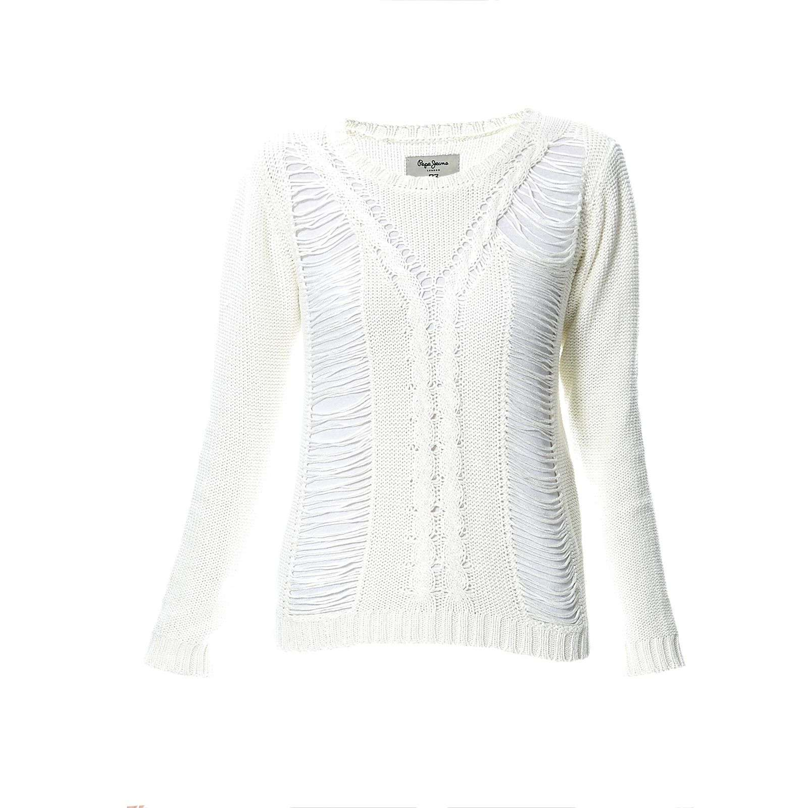 Pepe Jeans London Billie - Pull - blanc