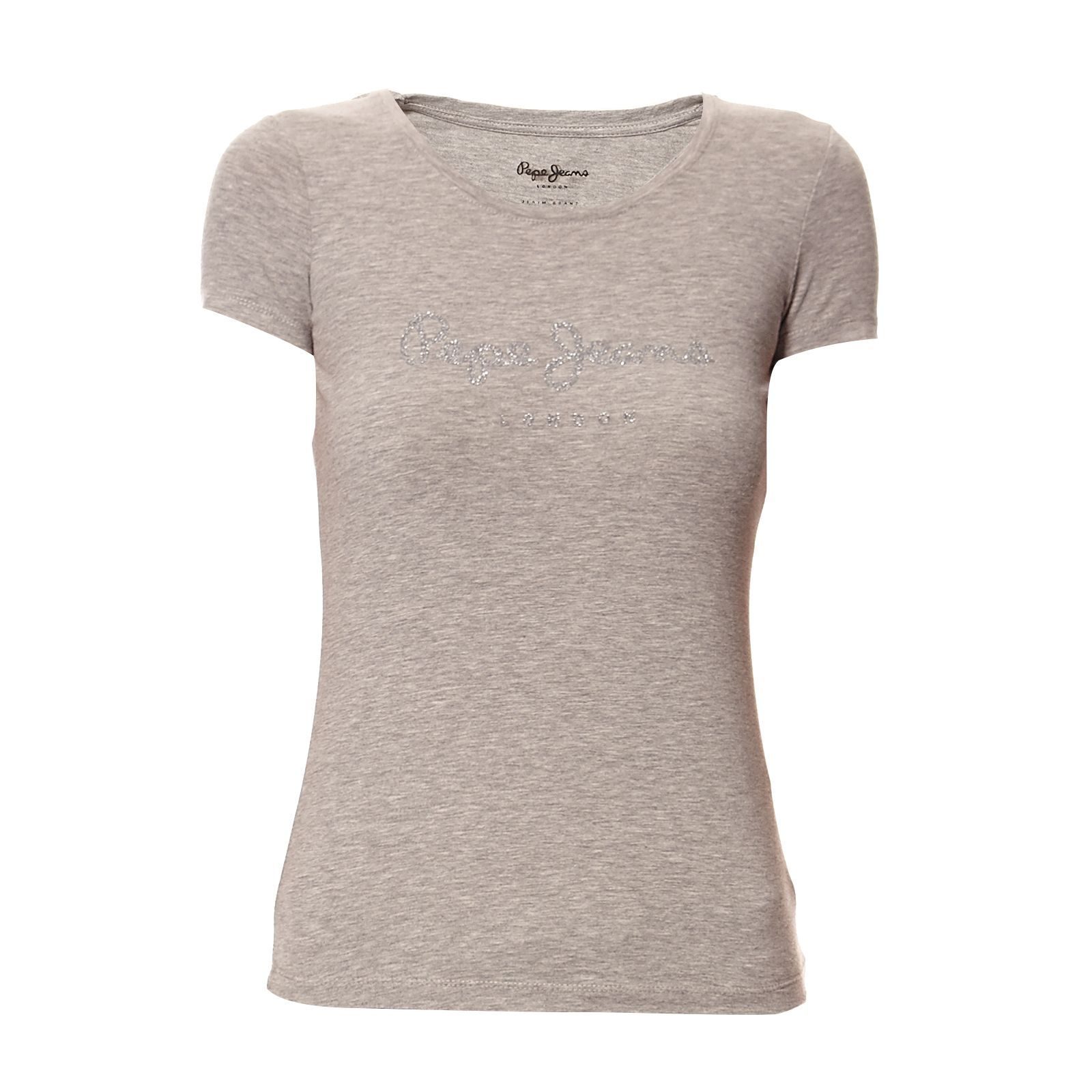 Pepe Jeans London Emily - T-shirt - gris chine