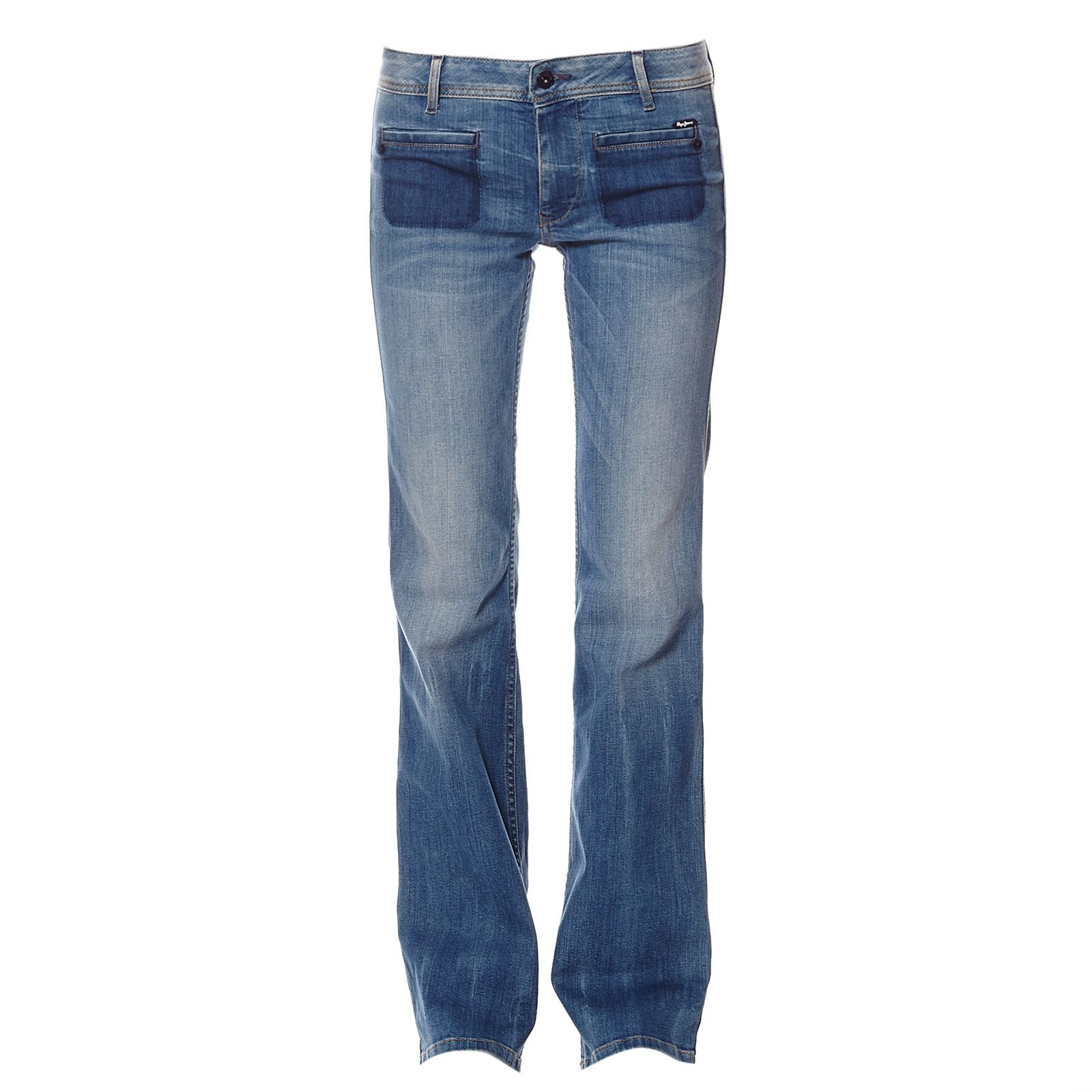 Pepe Jeans London Jael - Jean bootcut - denim bleu