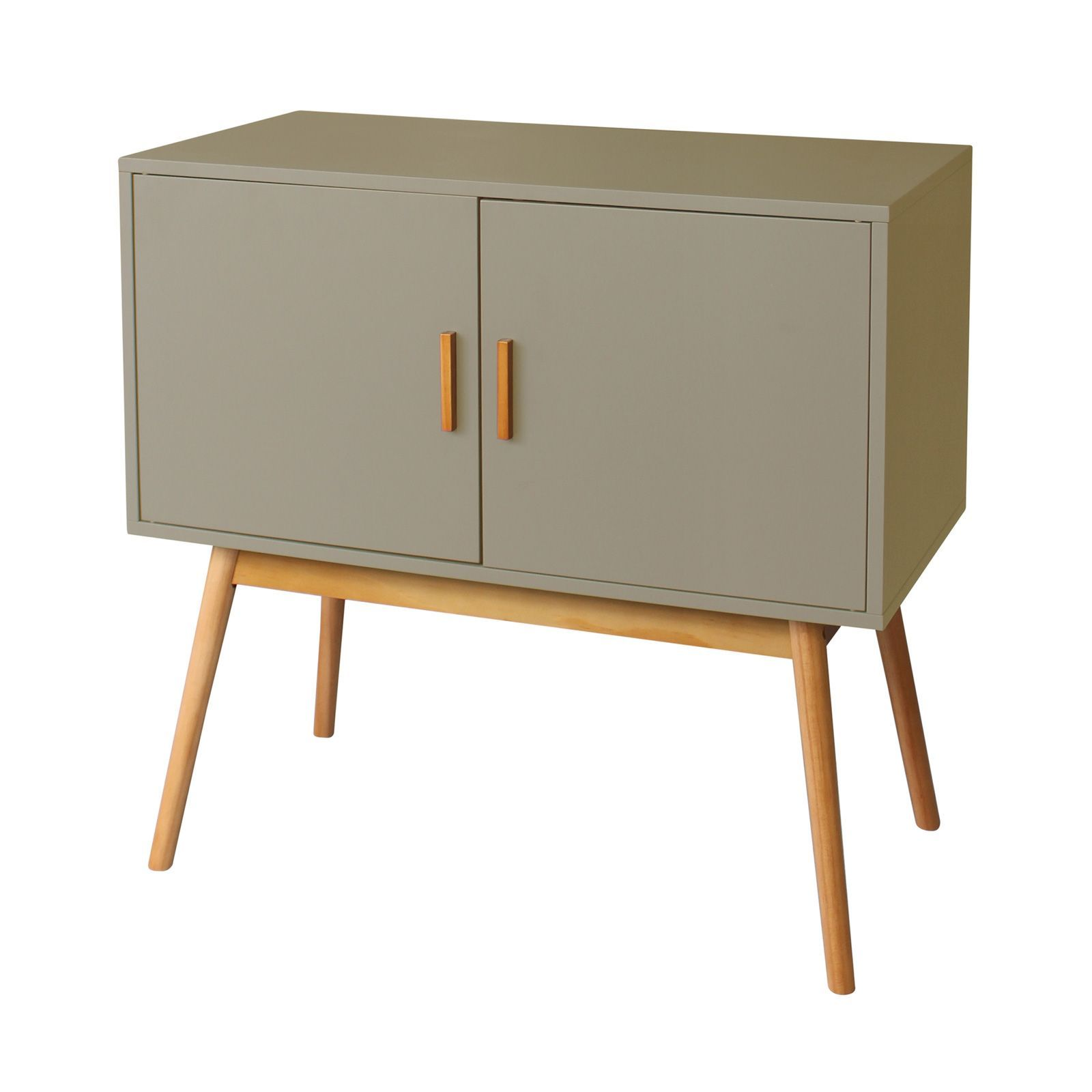 potiron sixties buffet taupe brandalley. Black Bedroom Furniture Sets. Home Design Ideas