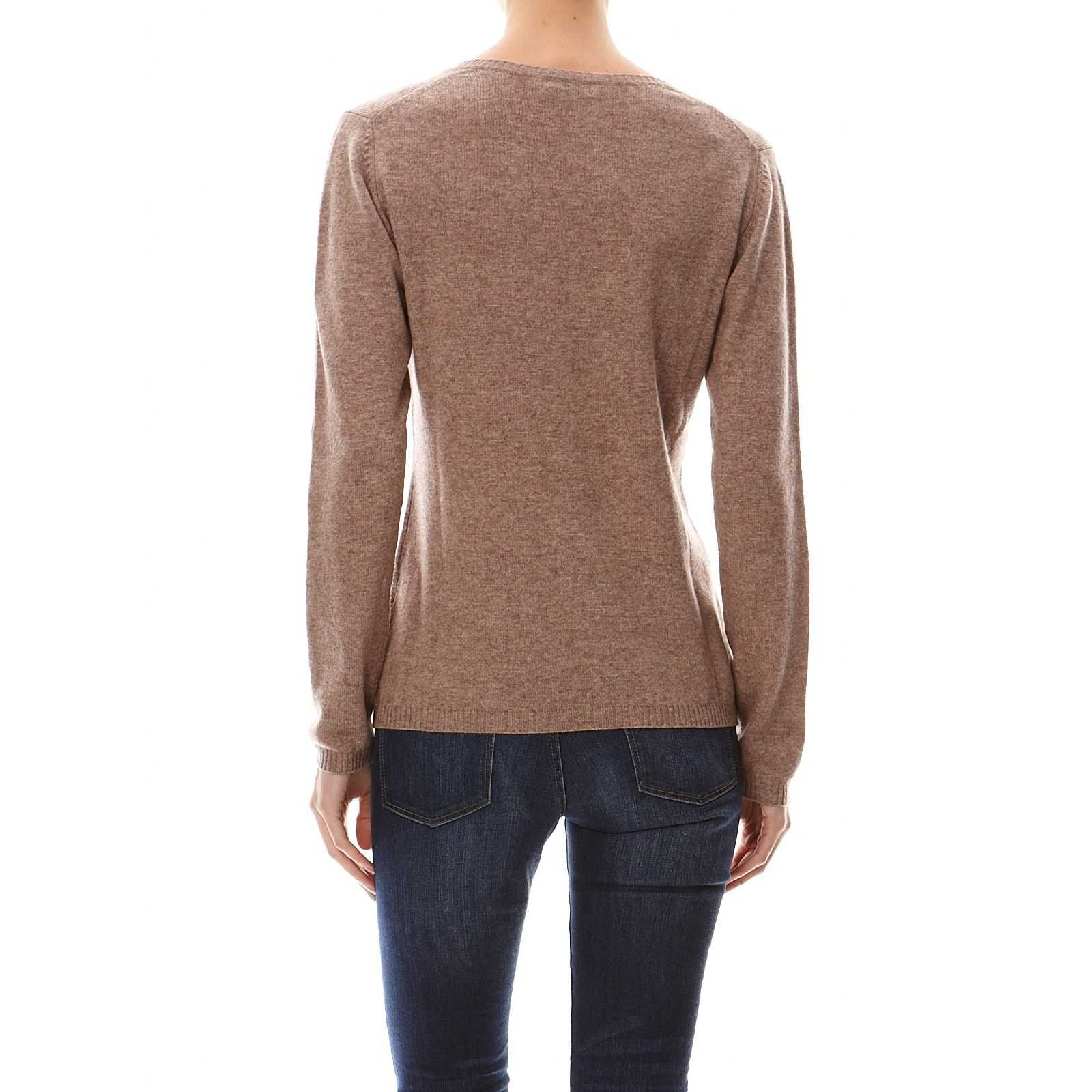 Synonyme Georges Rech Pull 100% cachemire - taupe   BrandAlley 62946728bb5