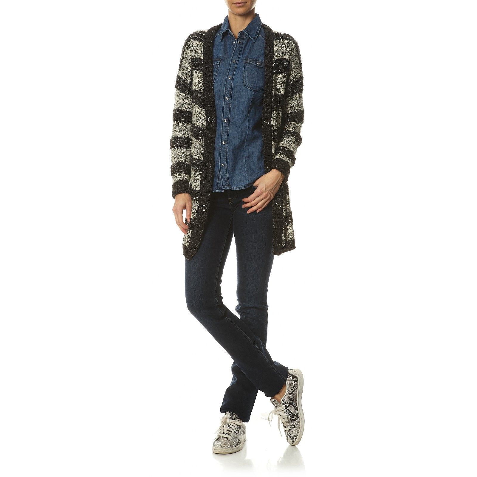Pepe Jeans London Gen - Jean droit - denim bleu