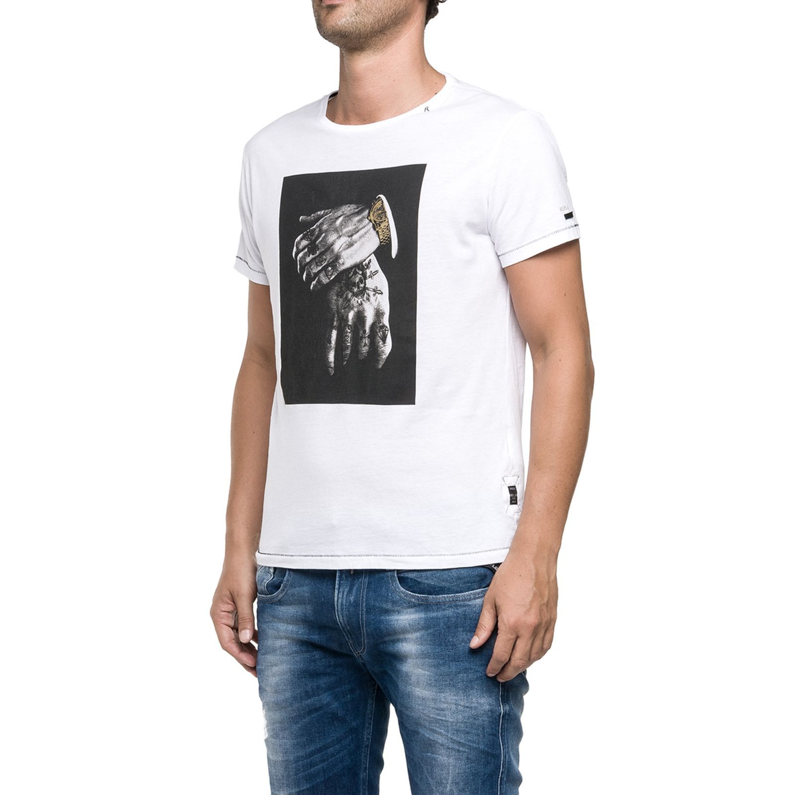 Replay T-shirt - blanc