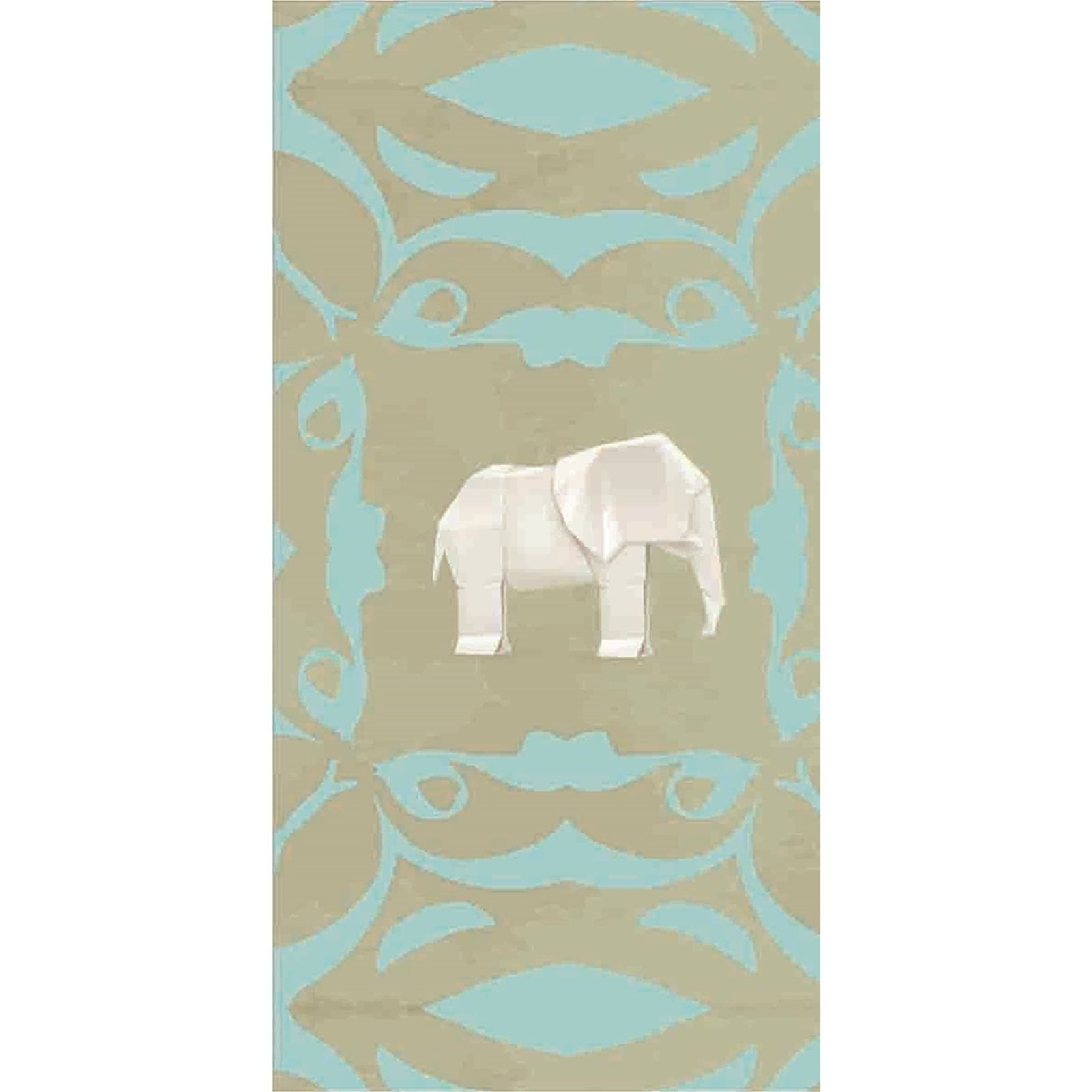 l papiers de ninon elephant papier peint multicolore brandalley. Black Bedroom Furniture Sets. Home Design Ideas