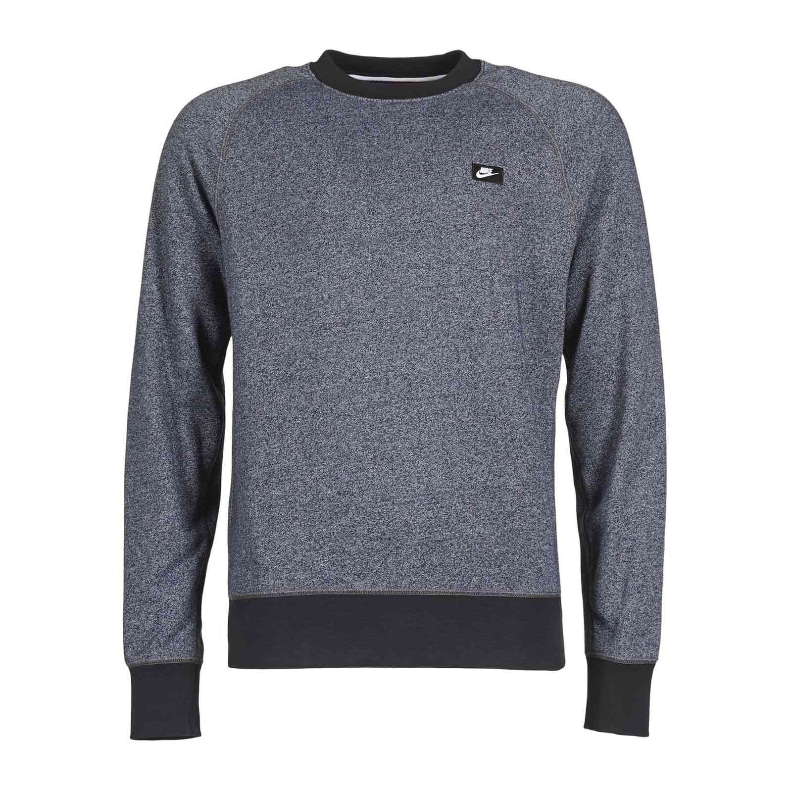 nike aw77 crew sweat shirt gris chine brandalley. Black Bedroom Furniture Sets. Home Design Ideas