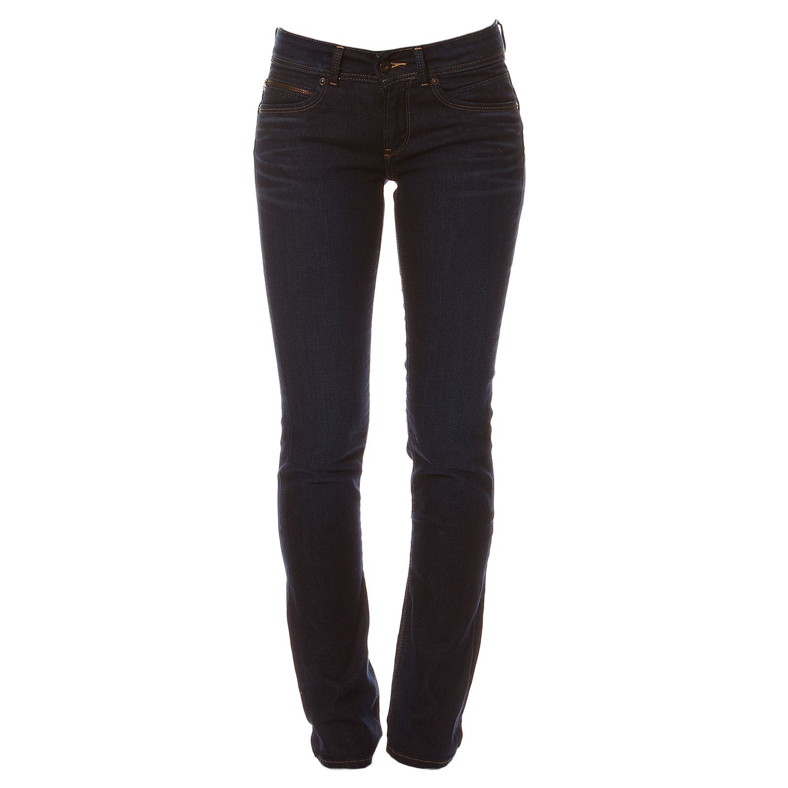 Pepe Jeans London New Brooke - Jean slim - denim bleu
