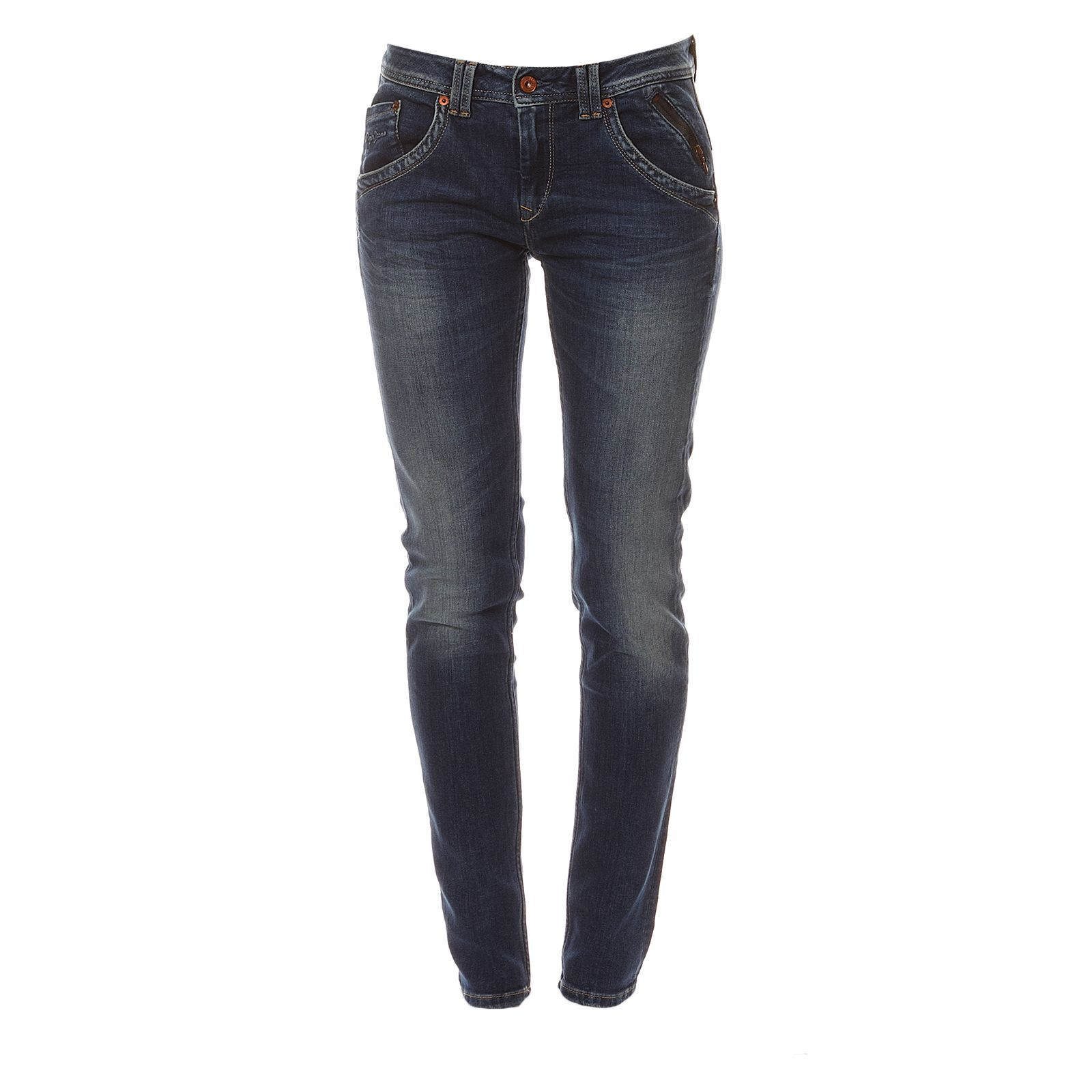 Pepe Jeans London Mercure - Jean slim - denim bleu