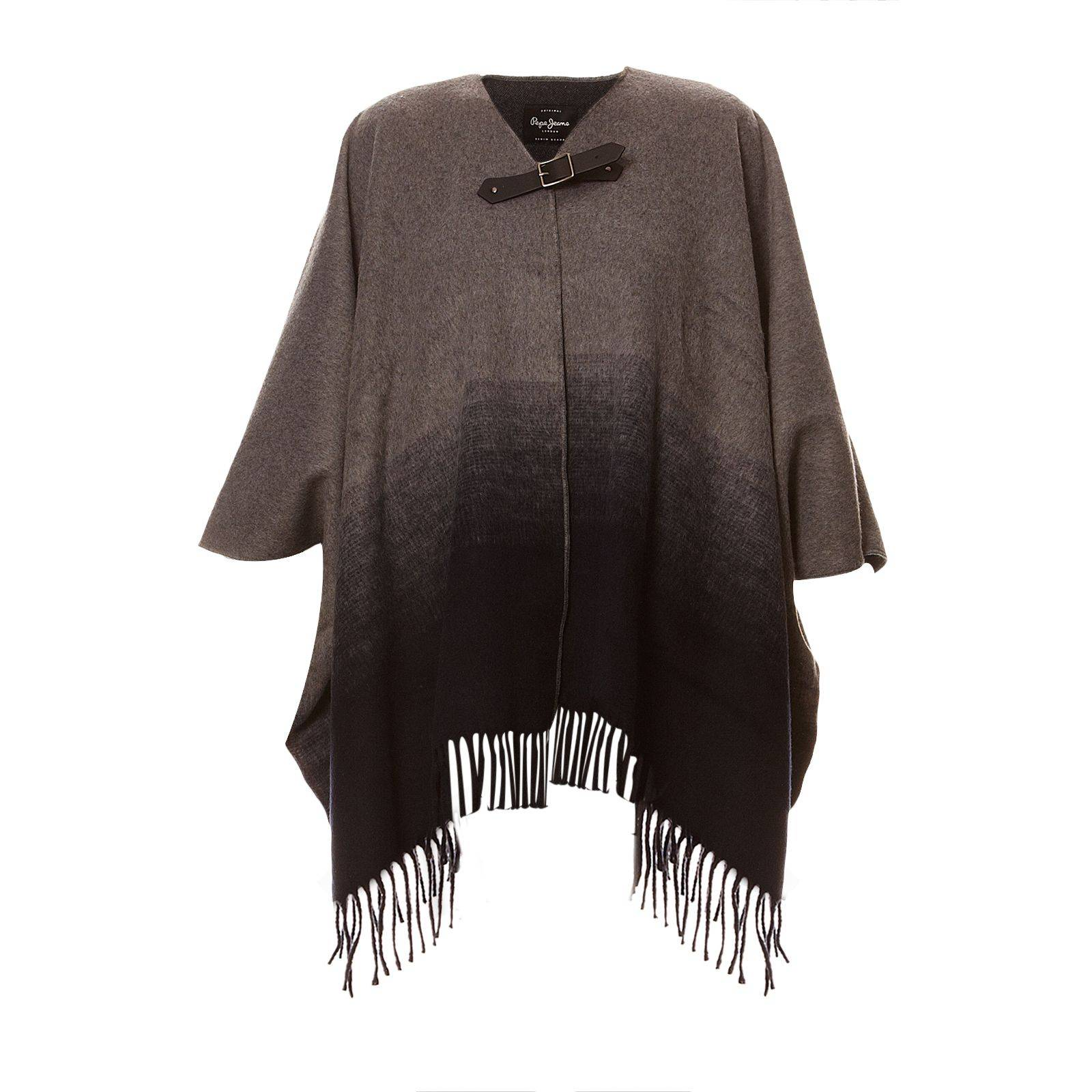 Pepe Jeans London Roeny - Poncho - gris