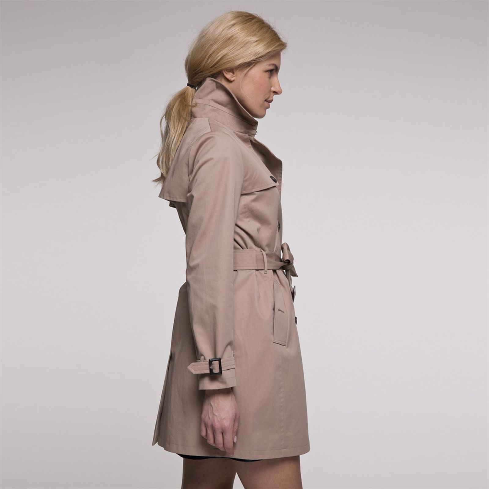 Brandalley Trench Beige Coat And Balina OYWvTng