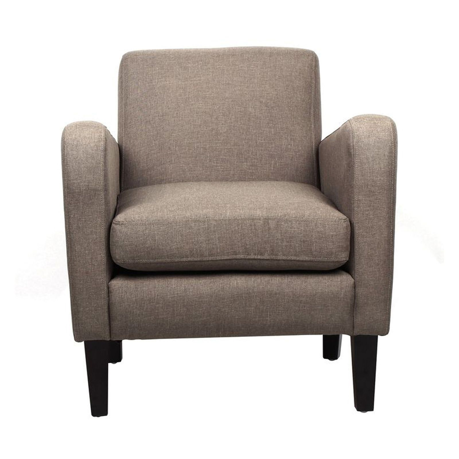 Potiron winston fauteuil taupe brandalley - Fauteuil potiron soldes ...