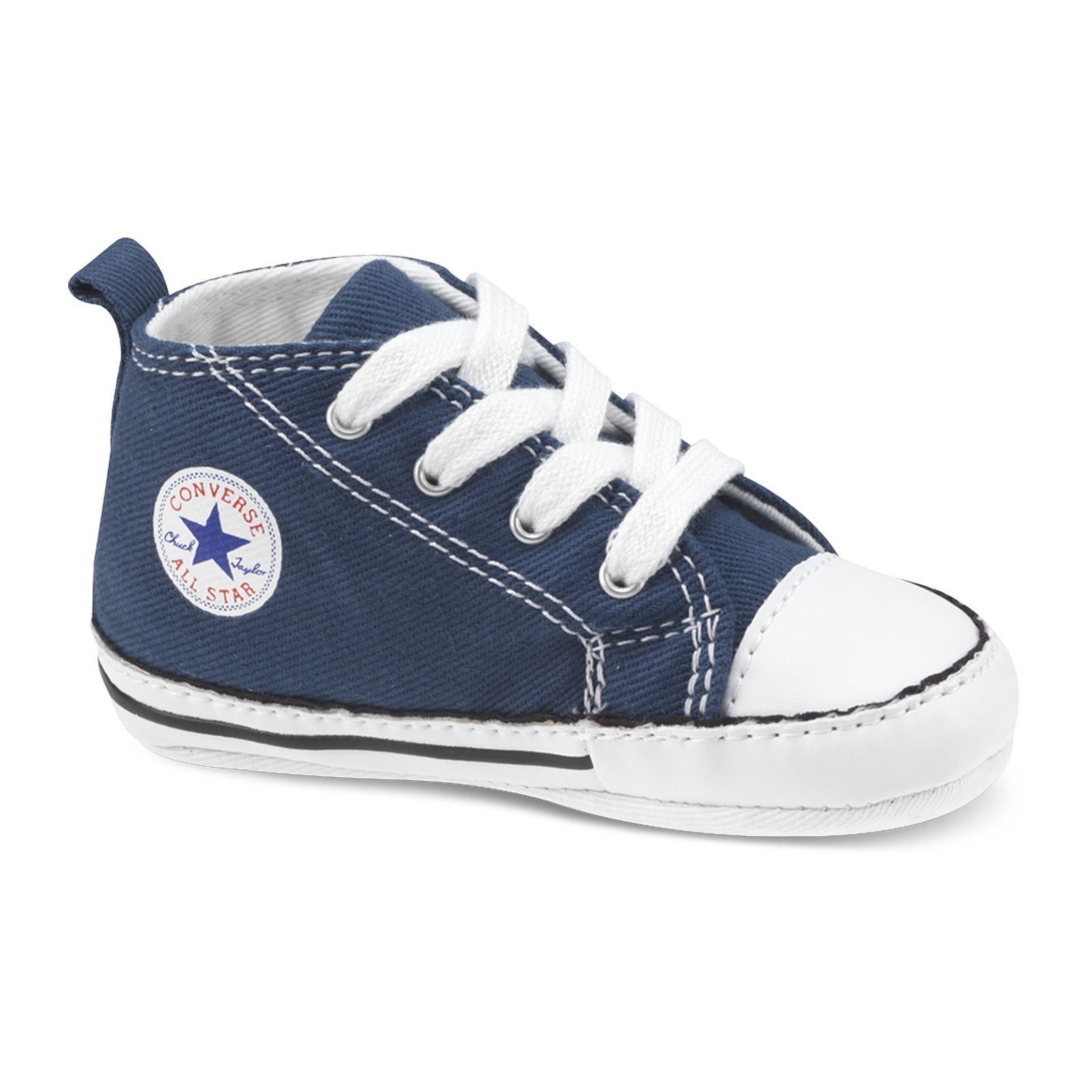 converse firt star hi baby baskets bleu marine brandalley. Black Bedroom Furniture Sets. Home Design Ideas