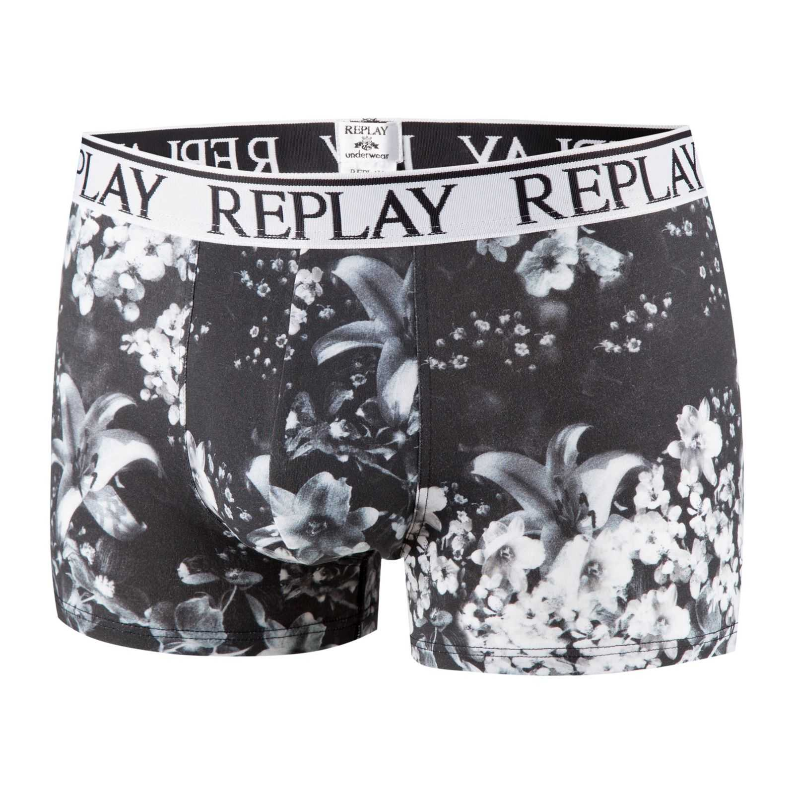 Replay Boxer - noir