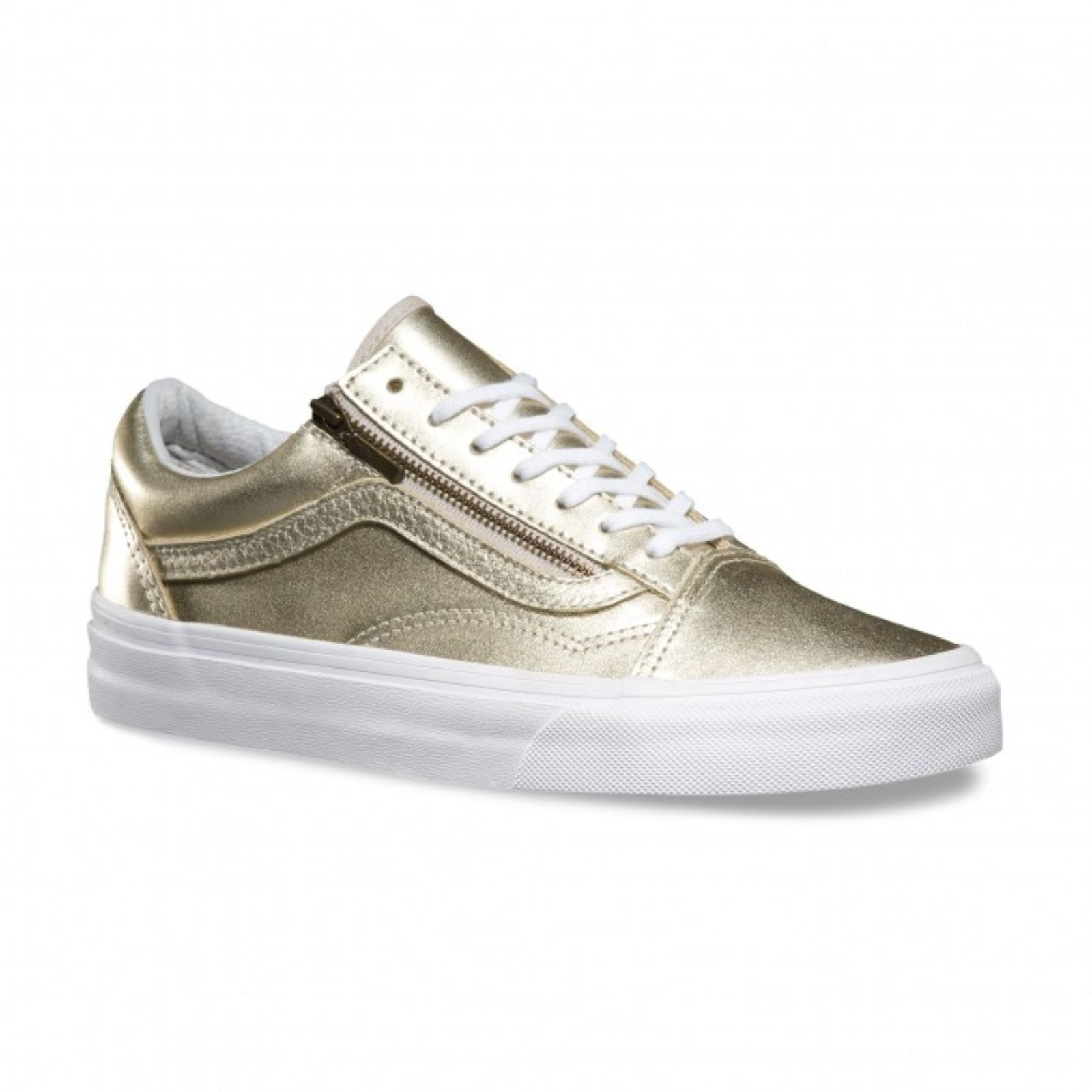 vans old skool cuir enfant