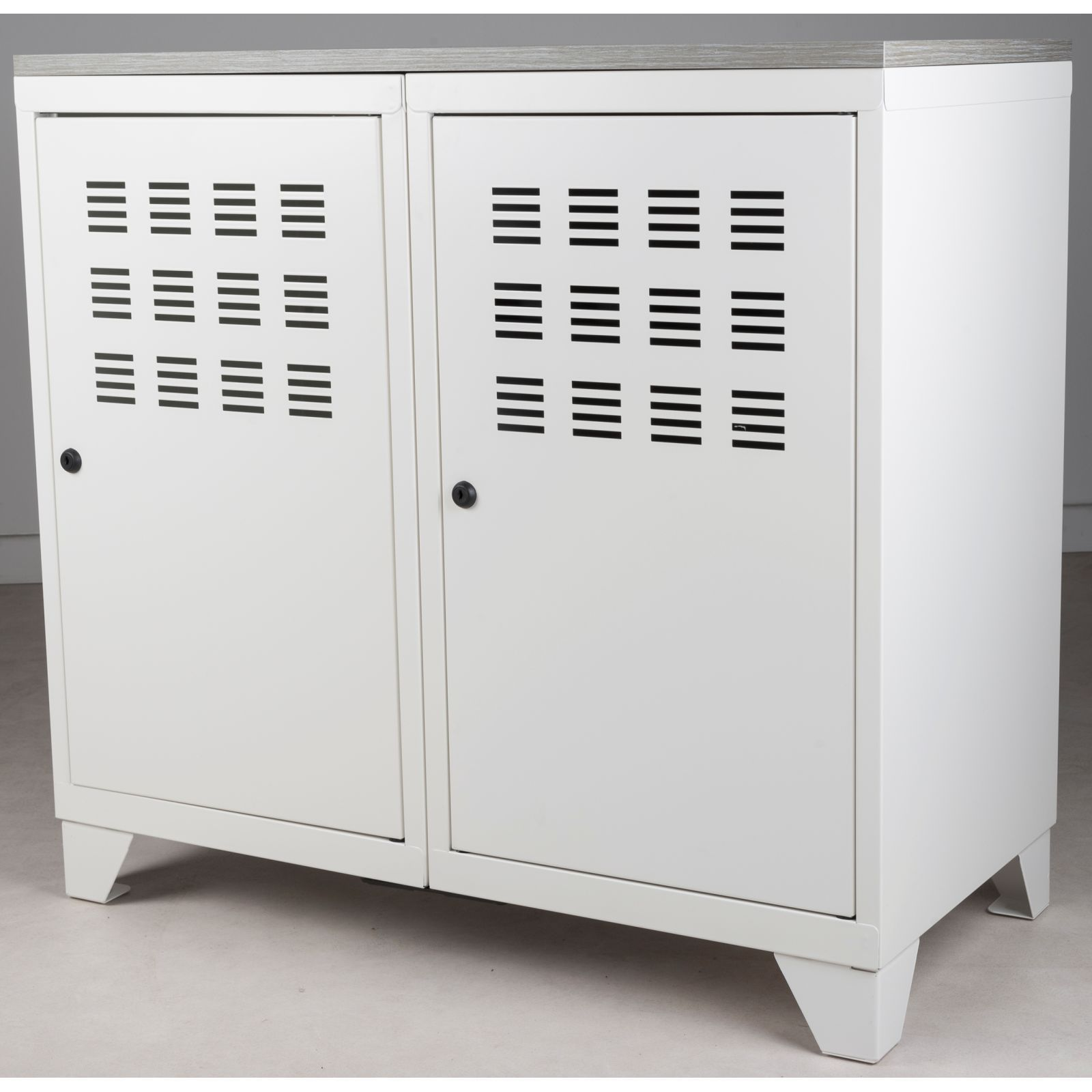 pierre henry armoire 2 portes blanc brandalley. Black Bedroom Furniture Sets. Home Design Ideas