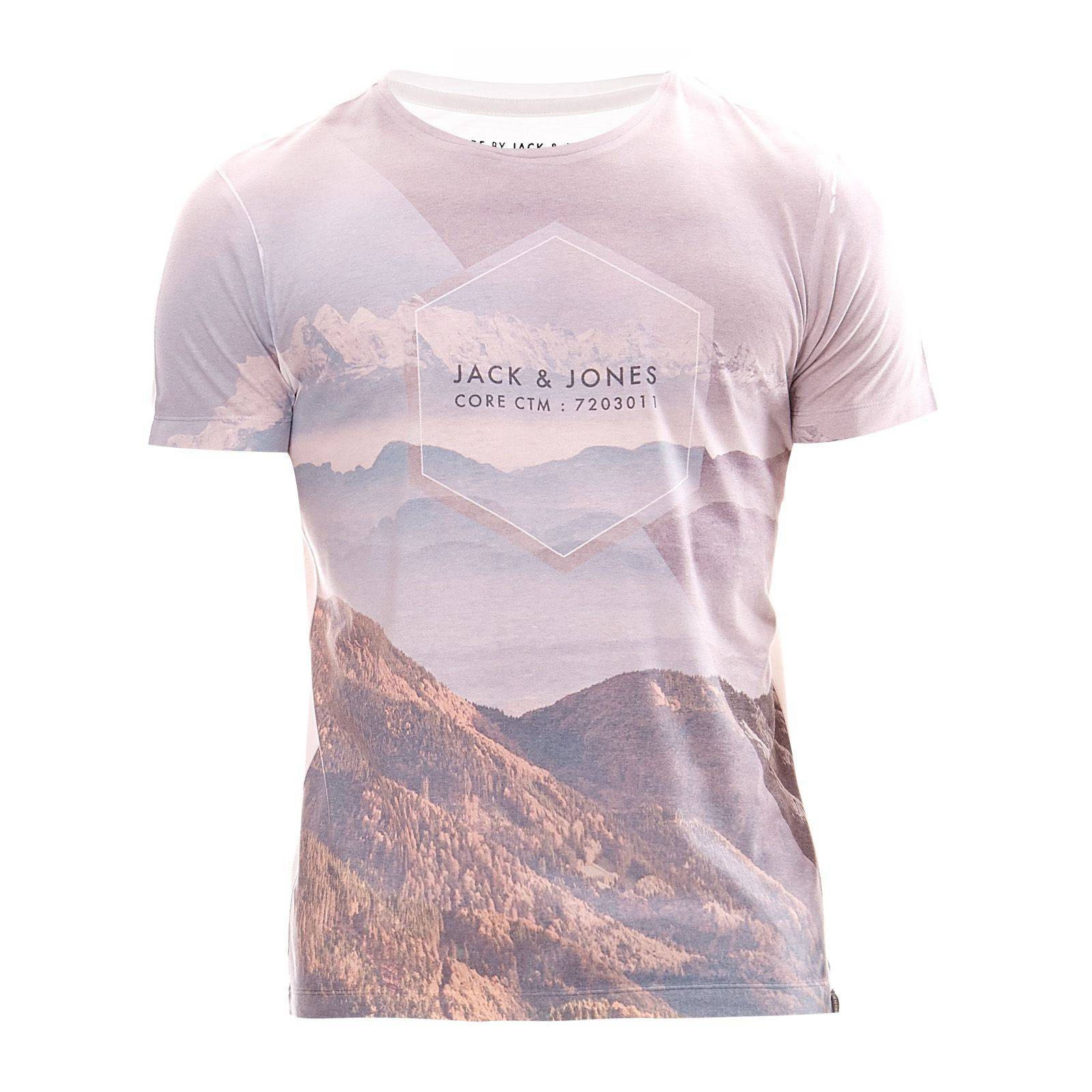 Jack  Jones T-shirt - gris clair