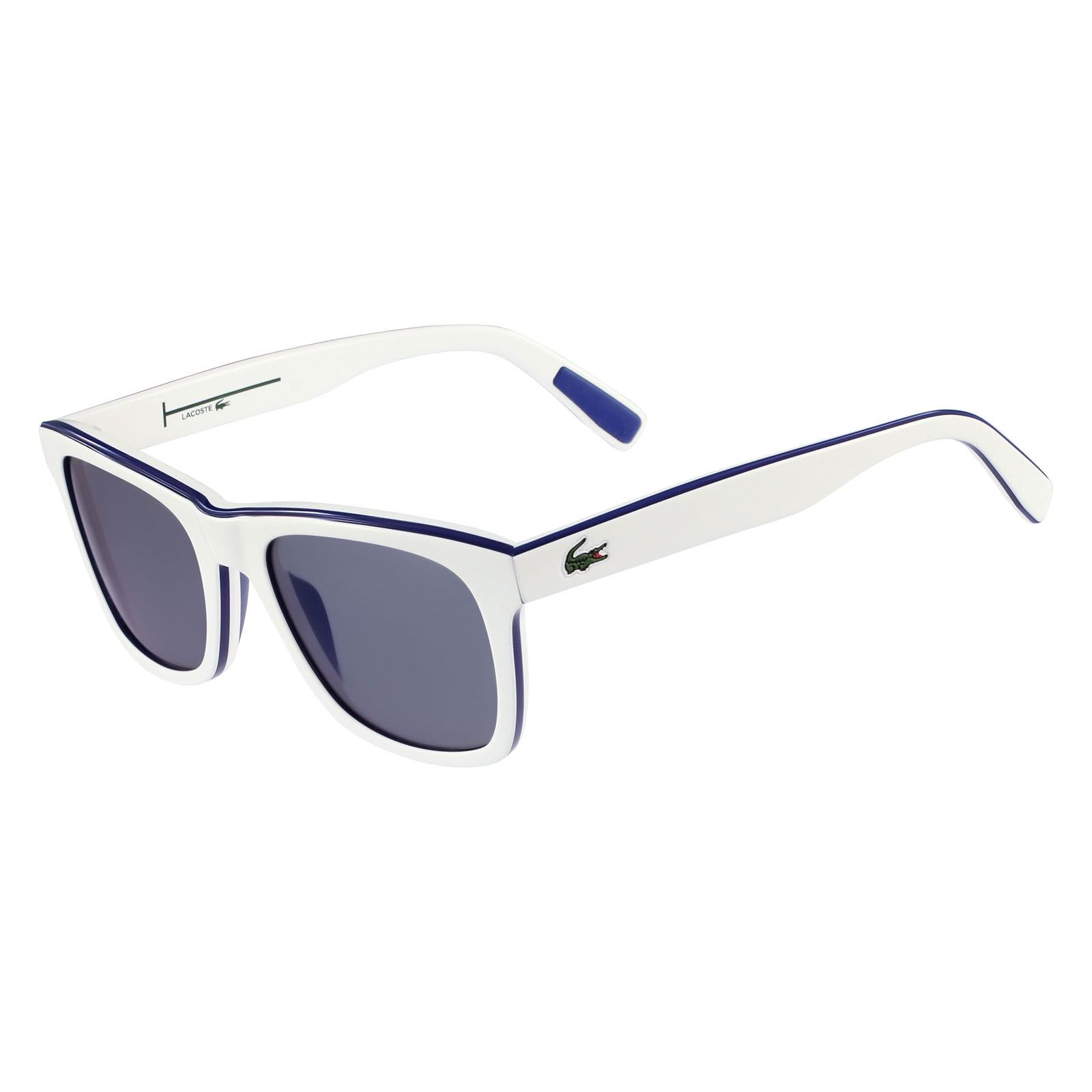 lacoste lunettes de soleil homme blanc brandalley. Black Bedroom Furniture Sets. Home Design Ideas