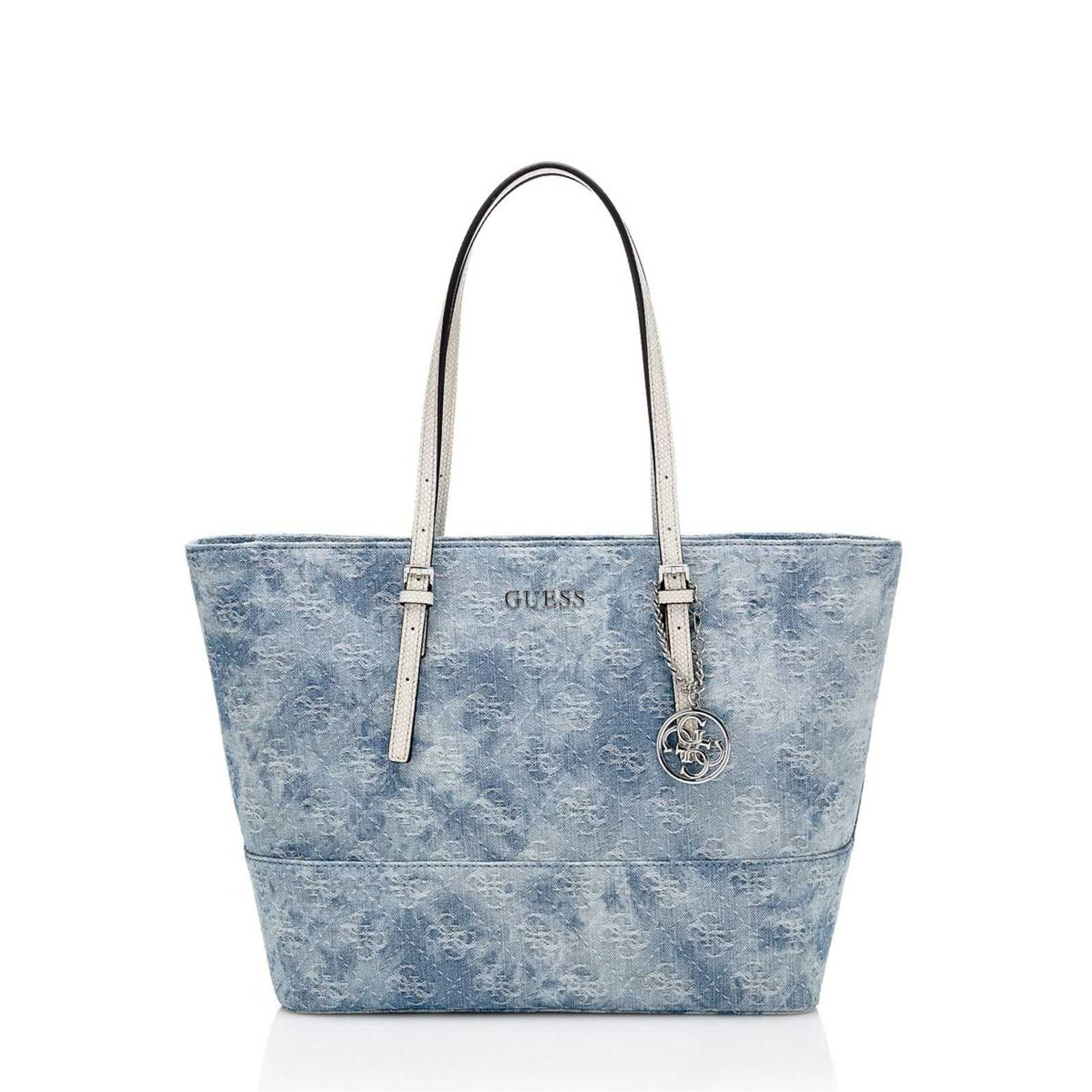 Guess Delaney - Sac à main - bleu