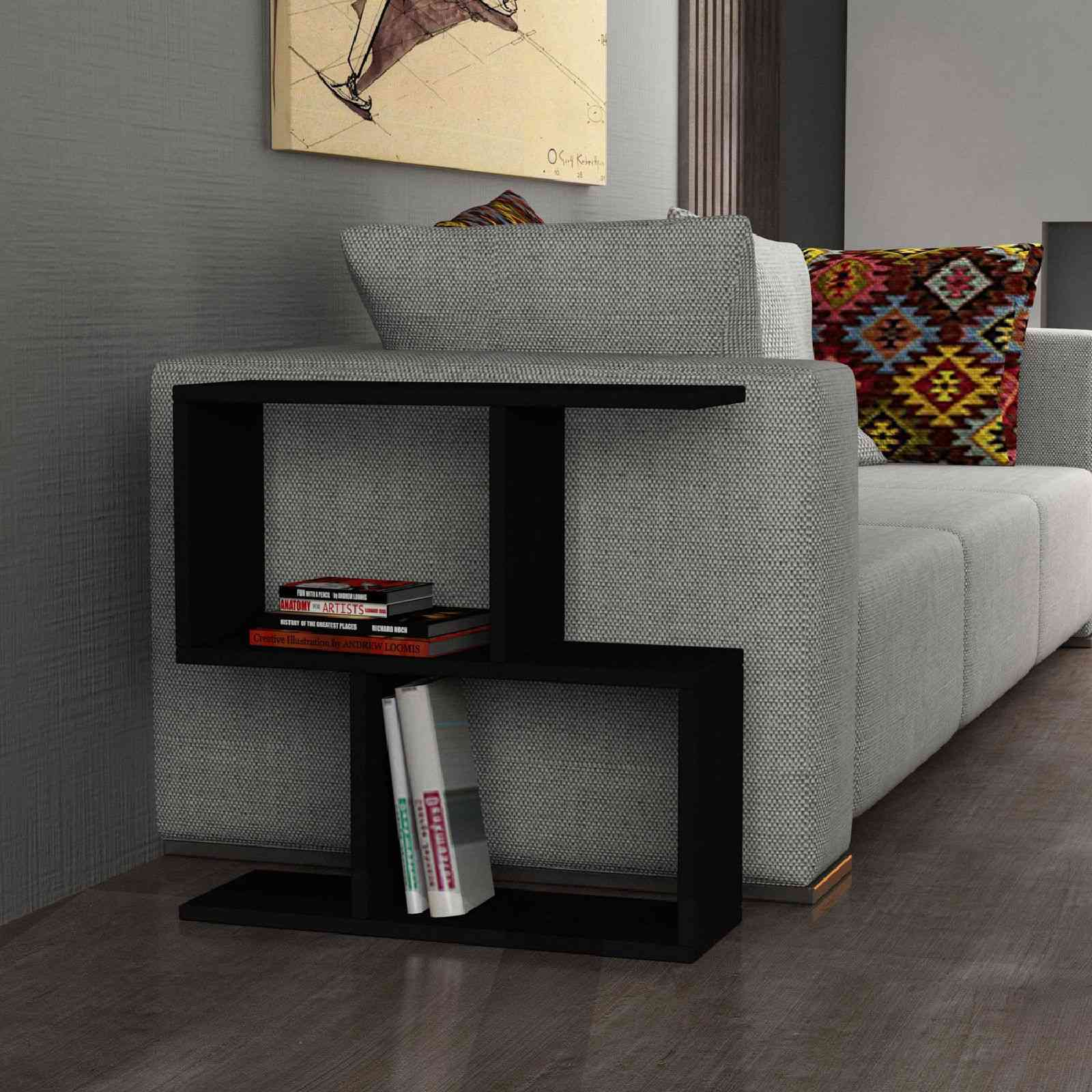 design line meuble d 39 appoint noir brandalley. Black Bedroom Furniture Sets. Home Design Ideas