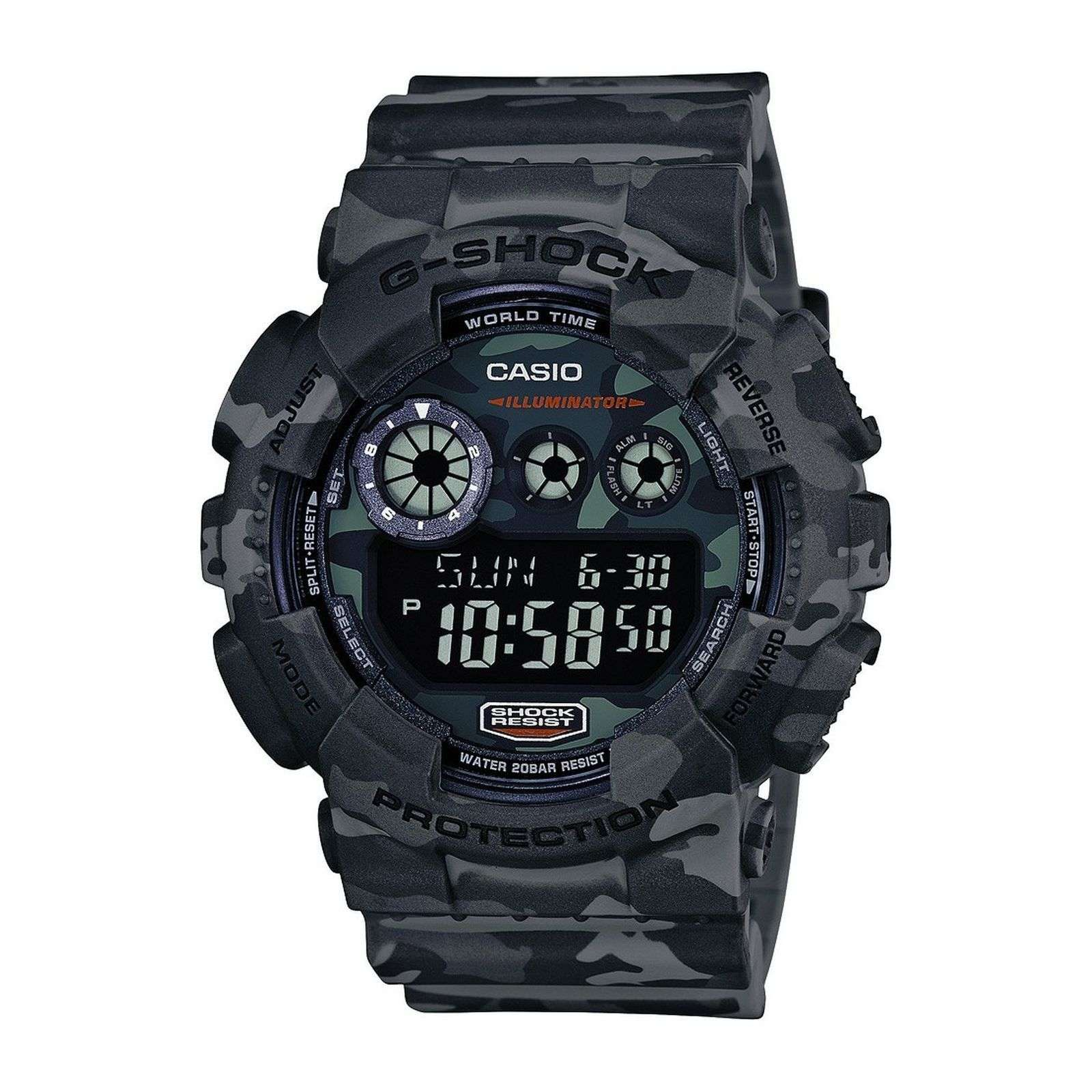 casio g shock montre digitale army brandalley. Black Bedroom Furniture Sets. Home Design Ideas