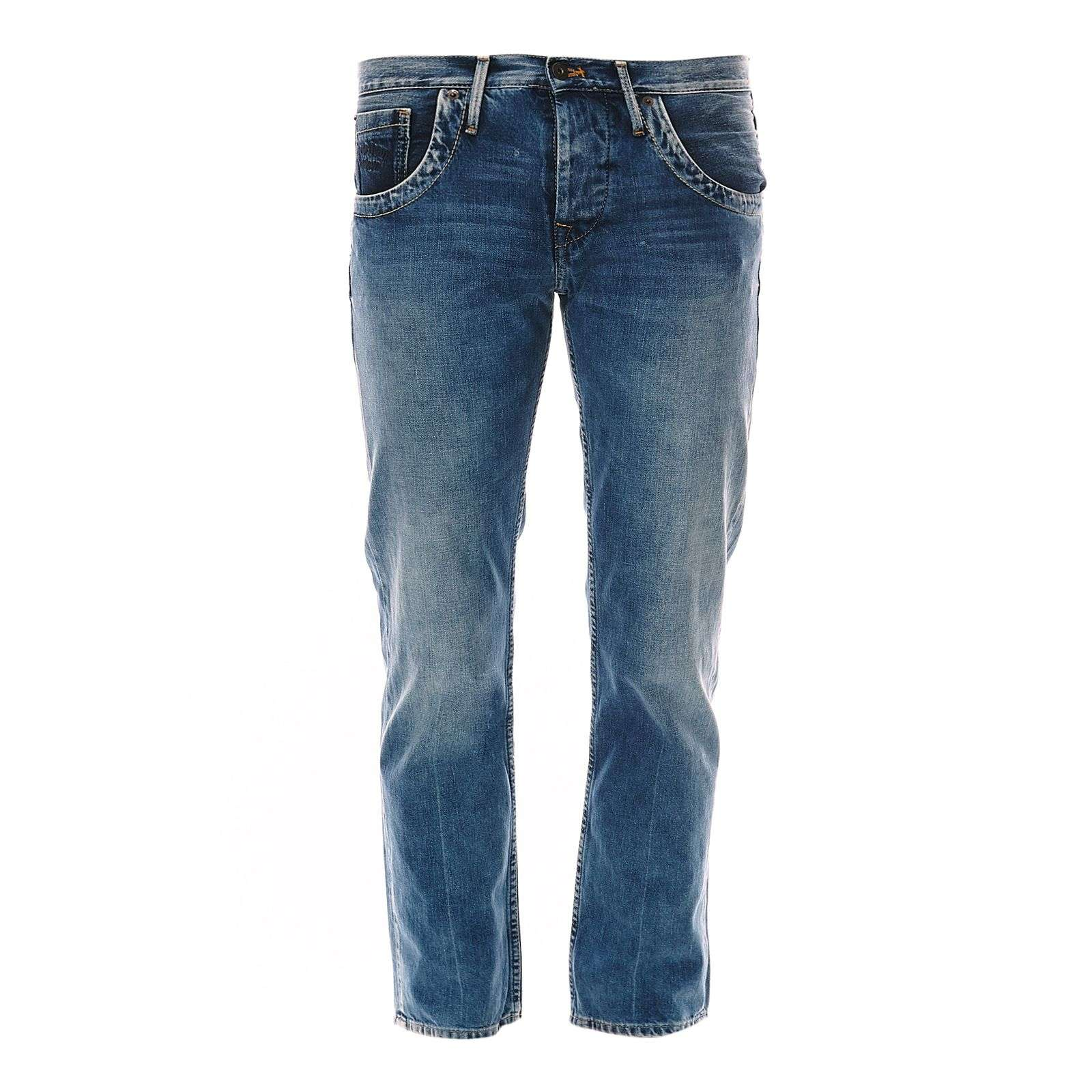 Pepe Jeans London Tooting - Jean droit - denim bleu