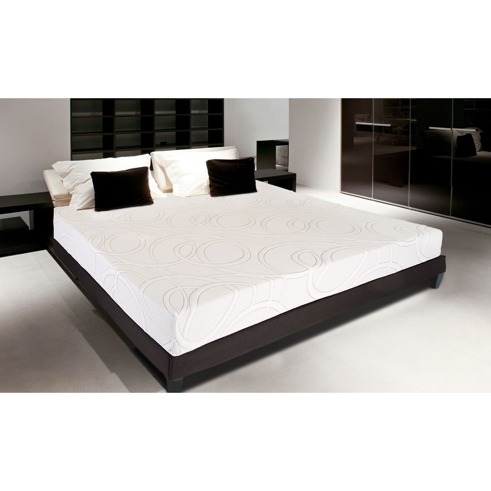 nupsia senso gel luxury ensemble matelas sommier brandalley. Black Bedroom Furniture Sets. Home Design Ideas