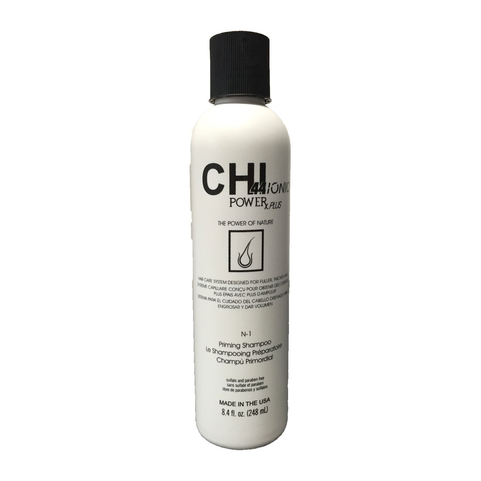 chi power plus shampoing anti chute cheveux naturels 250 ml brandalley. Black Bedroom Furniture Sets. Home Design Ideas